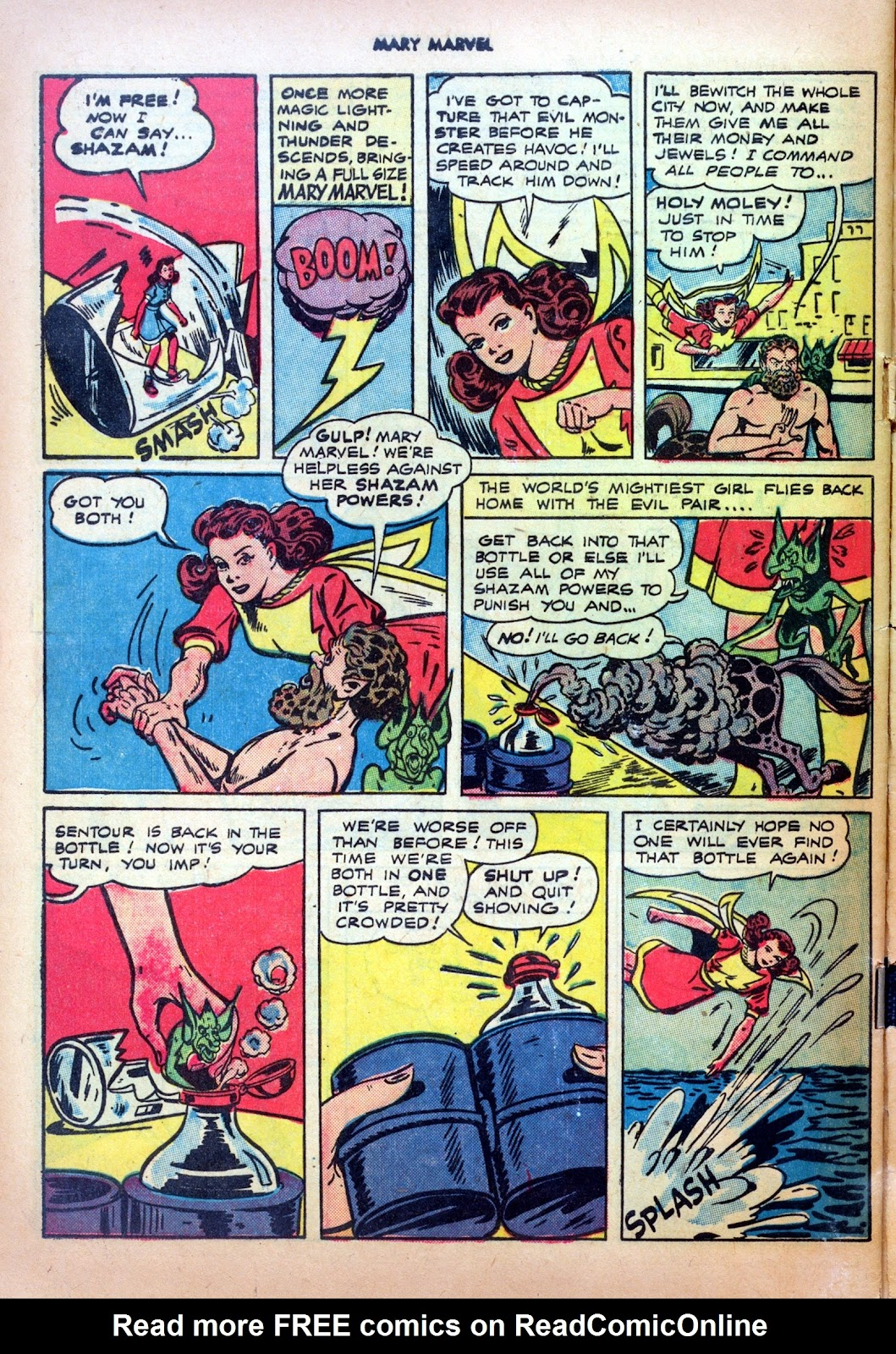 Read online Mary Marvel comic -  Issue #20 - 32