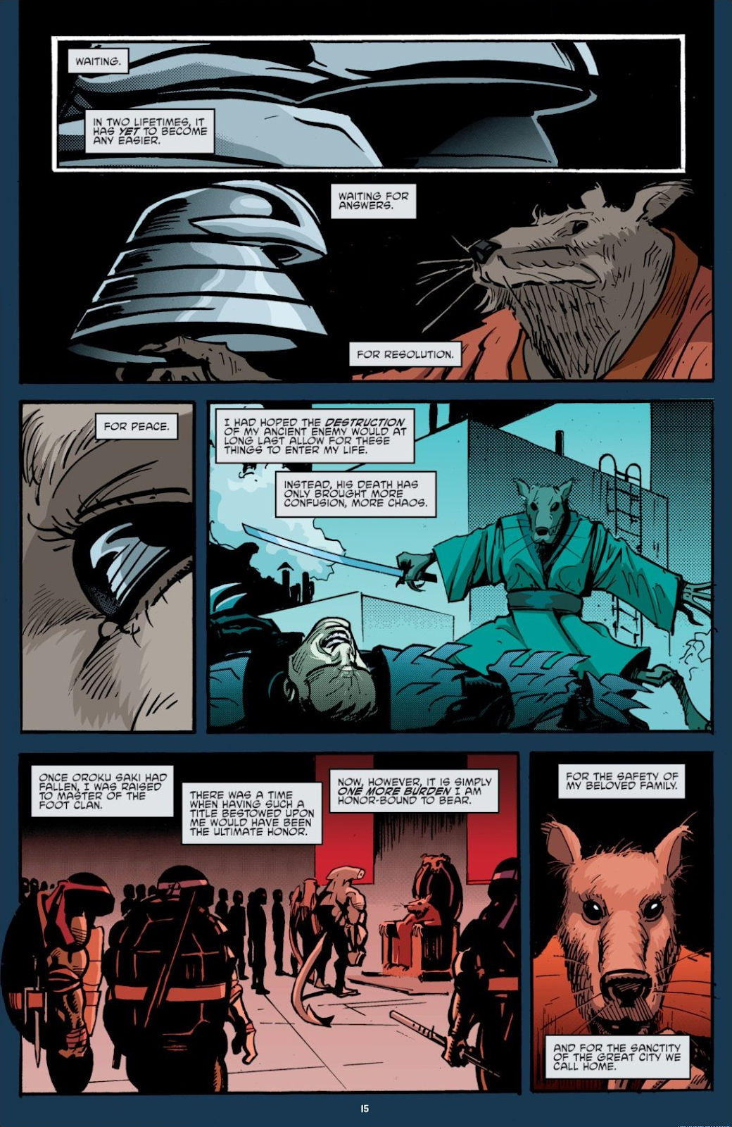 Read online Teenage Mutant Ninja Turtles: The IDW Collection comic -  Issue # TPB 7 (Part 1) - 15