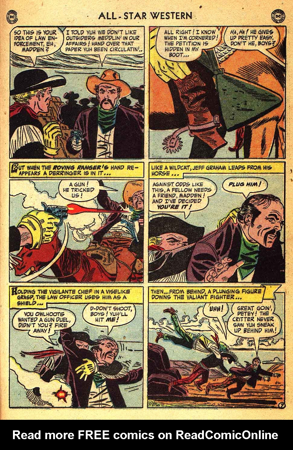 Read online All-Star Western (1951) comic -  Issue #58 - 31