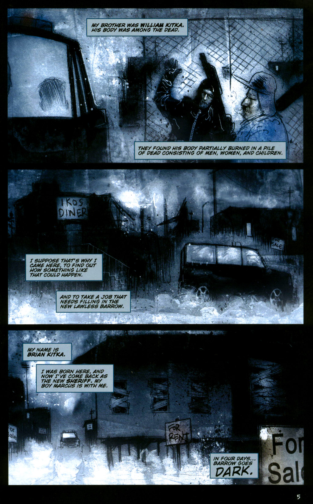 Read online 30 Days of Night: Return to Barrow comic -  Issue #1 - 7