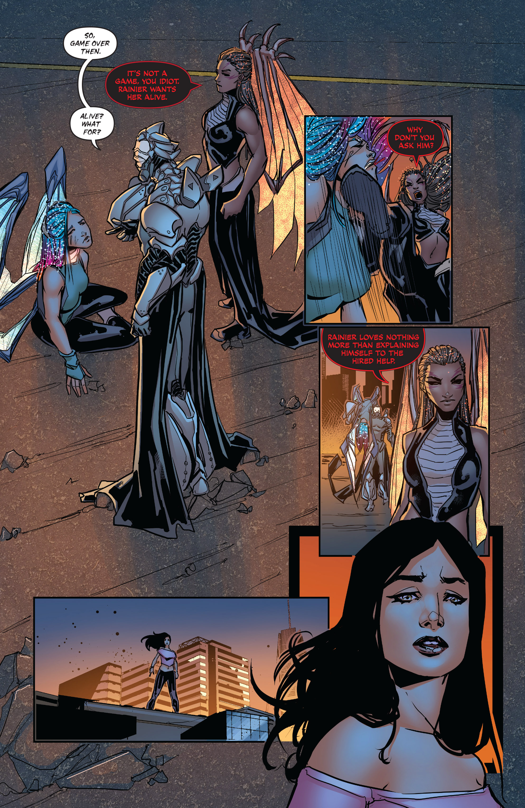 Read online All-New Soulfire Vol. 6 comic -  Issue #3 - 19