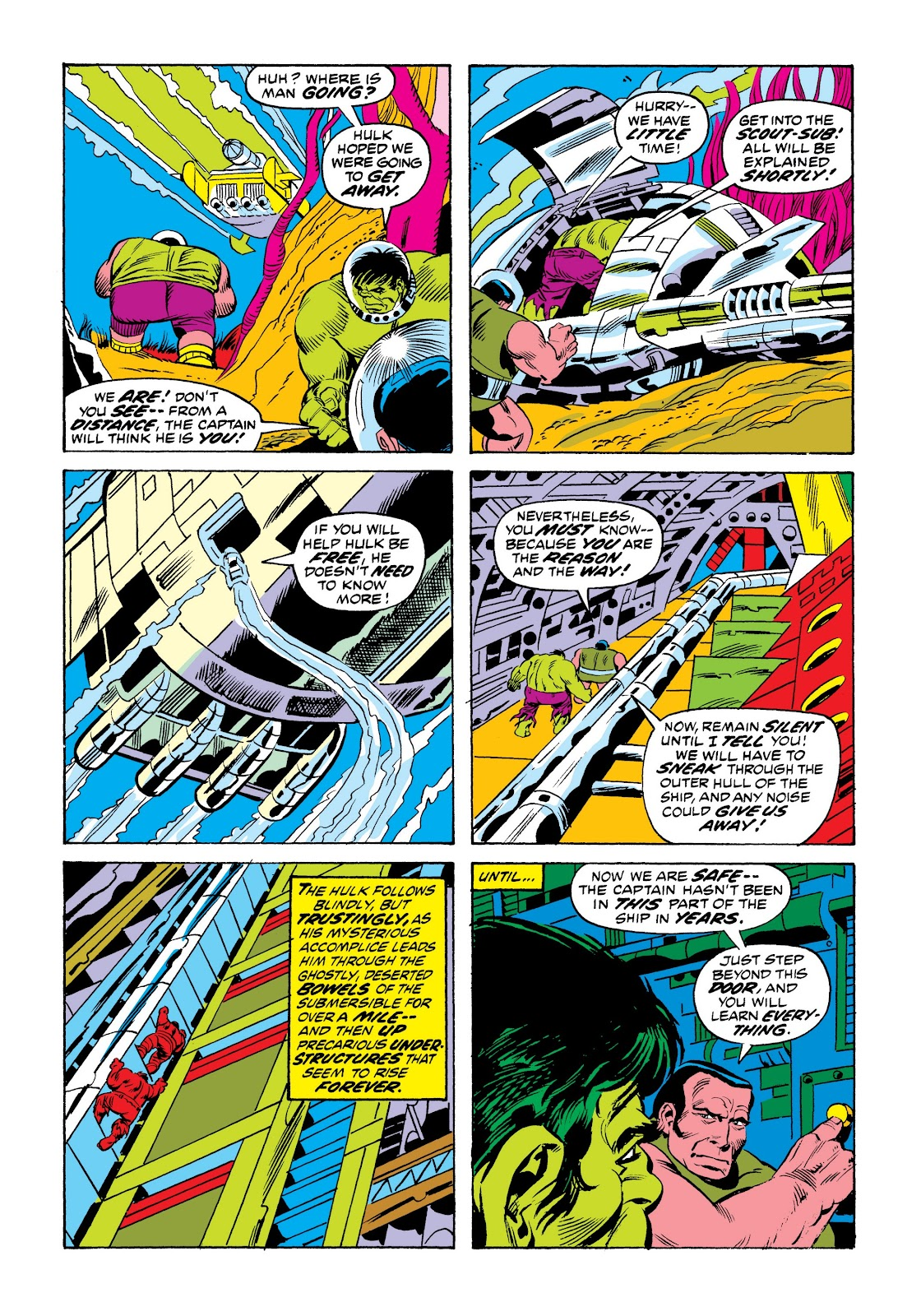 Read online Marvel Masterworks: The Incredible Hulk comic -  Issue # TPB 9 (Part 2) - 80