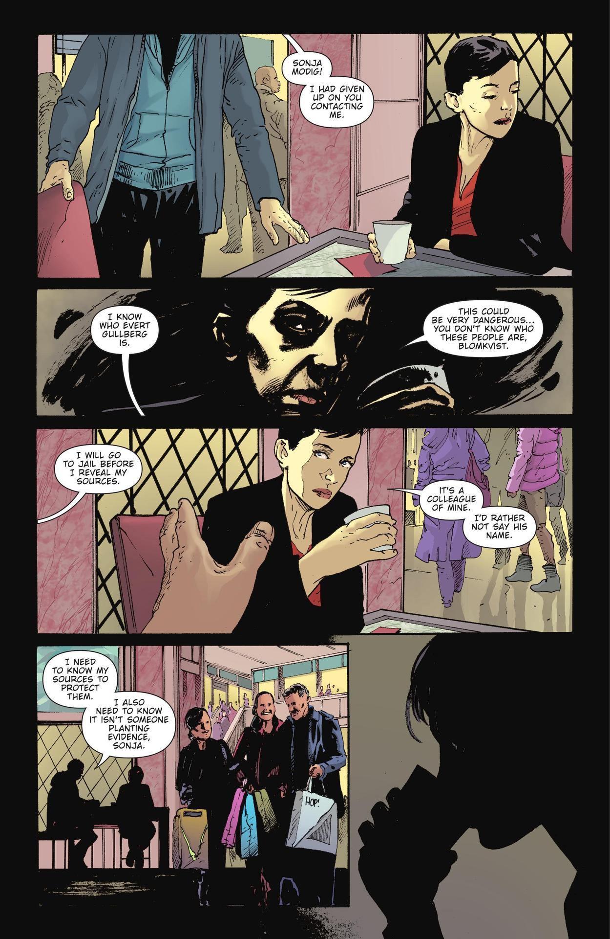 Read online The Girl Who Kicked The Hornet's Nest comic -  Issue # TPB - 180