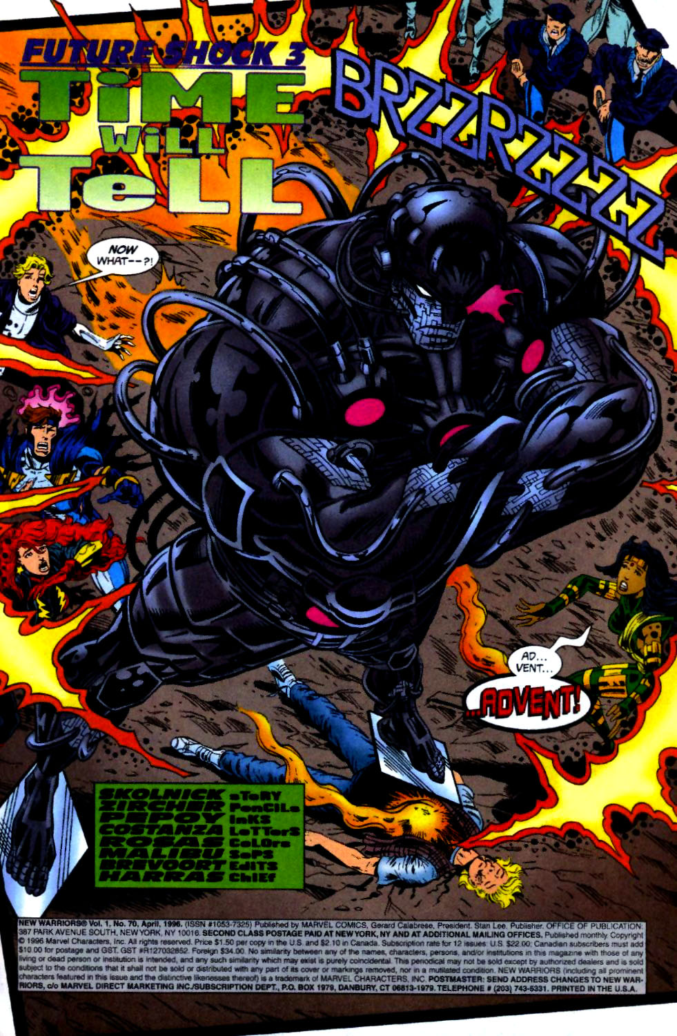 The New Warriors Issue #70 #74 - English 4