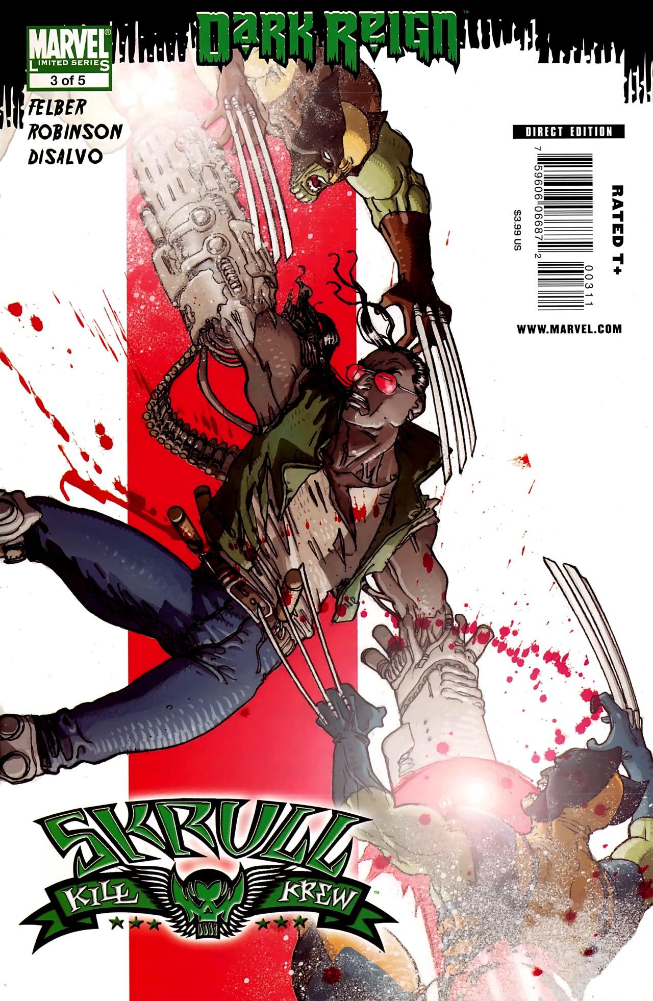 Read online Skrull Kill Krew (2009) comic -  Issue #3 - 1
