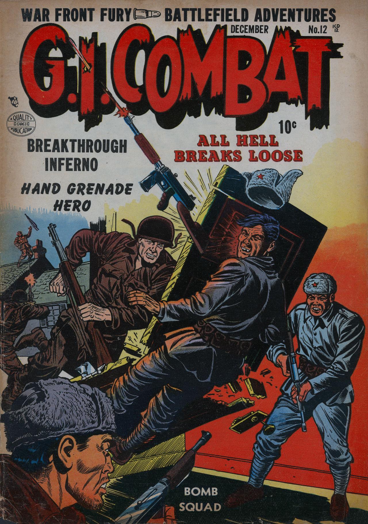 G.I. Combat (1952) 12 Page 1