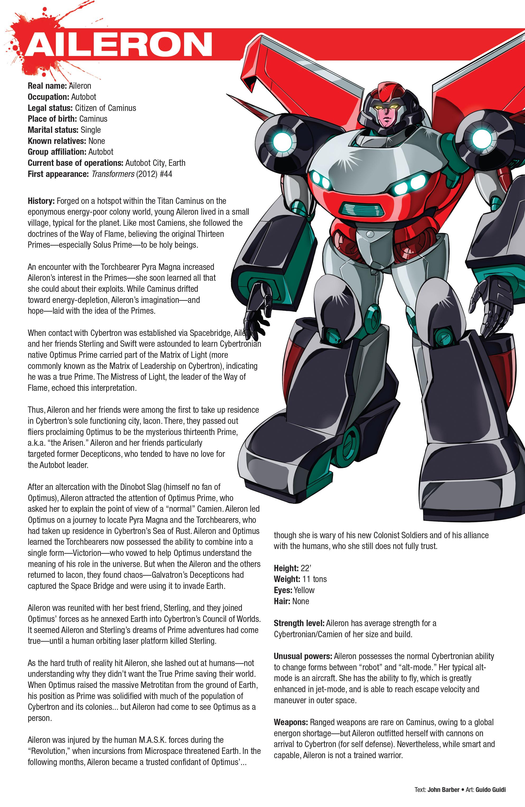 Read online Hasbro Heroes Sourcebook comic -  Issue #1 - 10