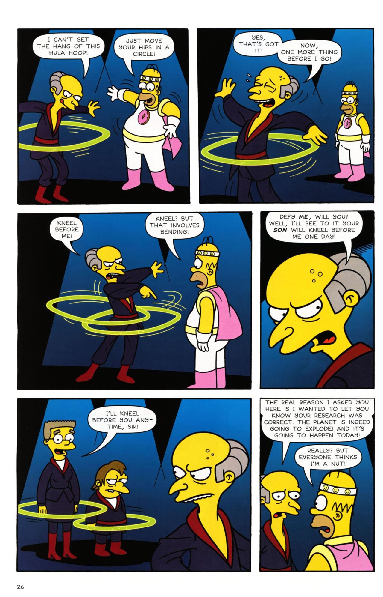 Read online Simpsons Comics comic -  Issue #168 - 21