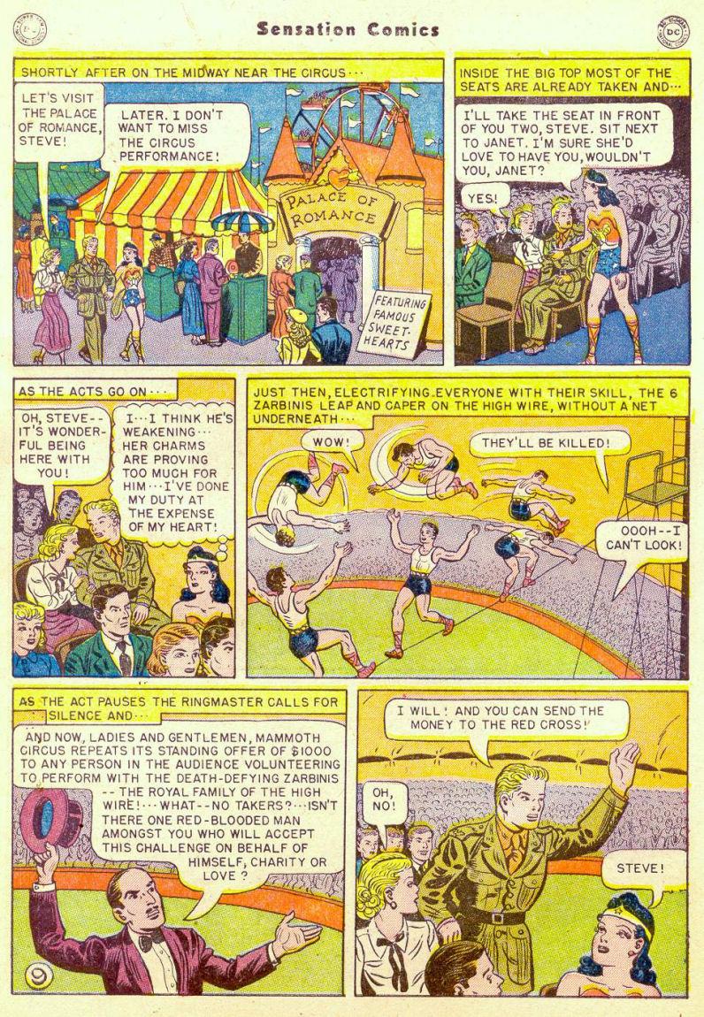 Read online Sensation (Mystery) Comics comic -  Issue #98 - 11