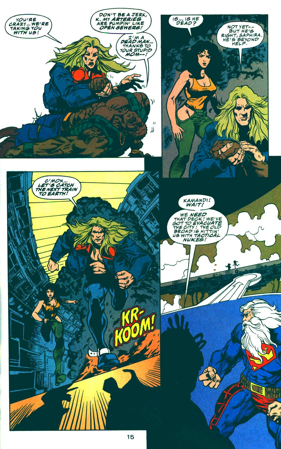 Read online Kamandi: At Earth's End comic -  Issue #5 - 16