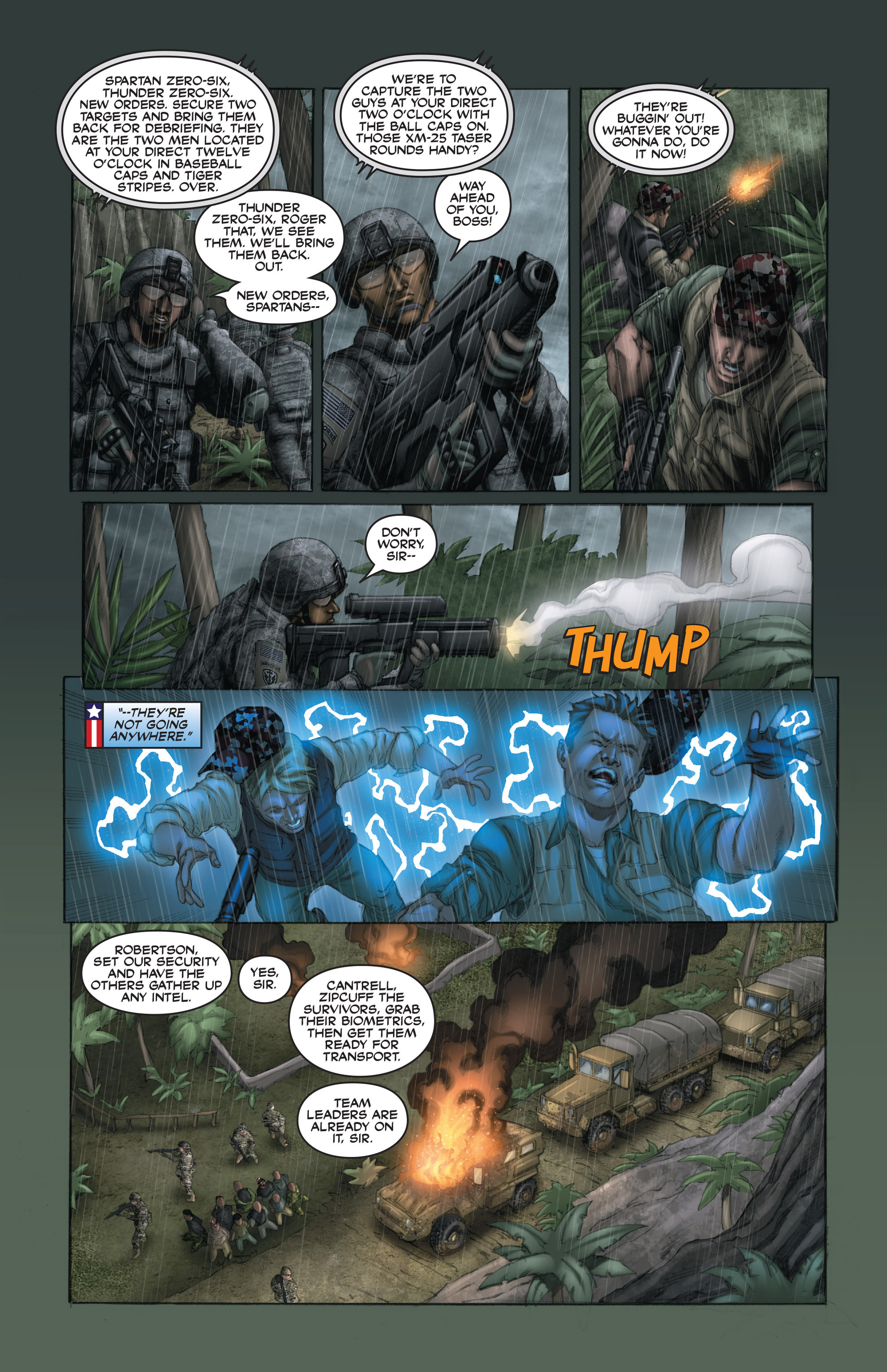 Read online America's Army comic -  Issue #15 - 22
