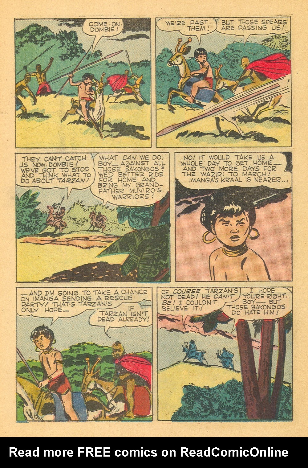 Tarzan (1948) issue 125 - Page 22