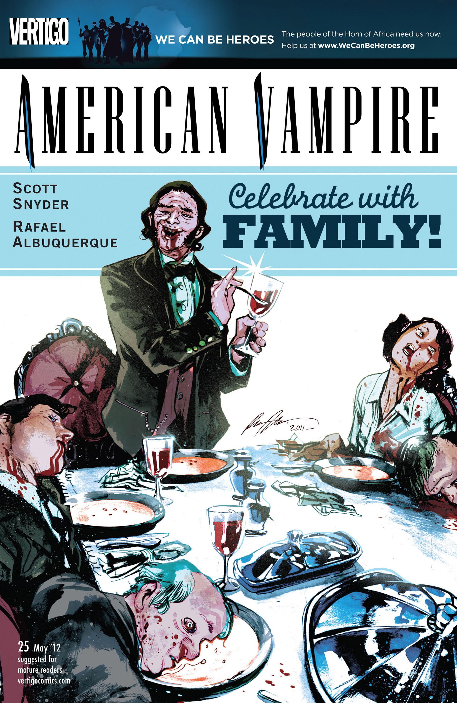 Read online American Vampire comic -  Issue #25 - 1
