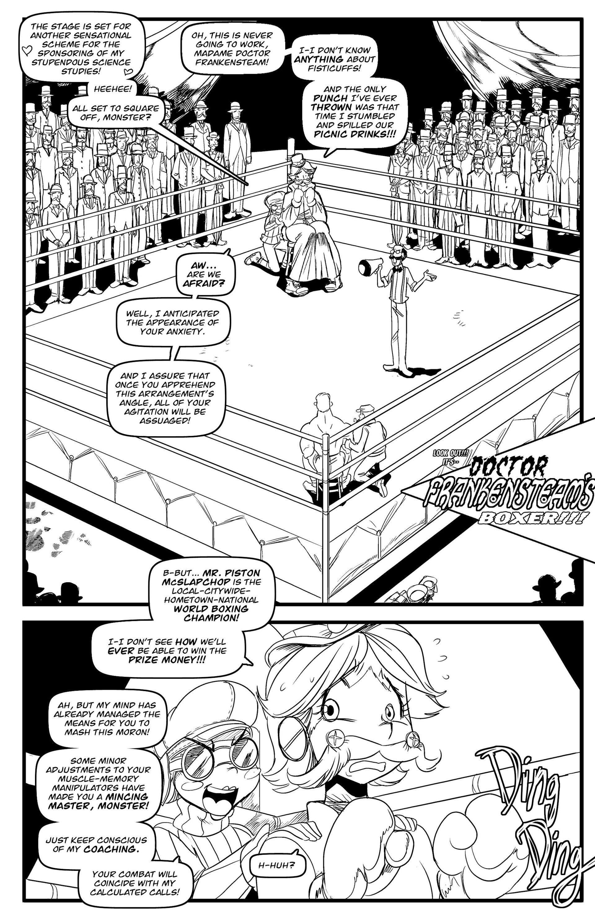 Read online Steampunk Halloween 2012 comic -  Issue # Full - 20