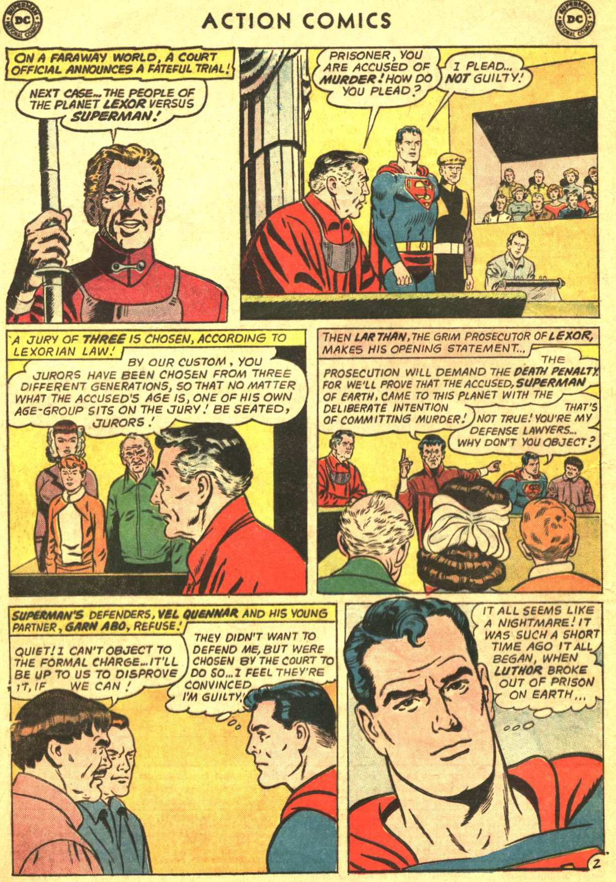 Read online Action Comics (1938) comic -  Issue #319 - 4