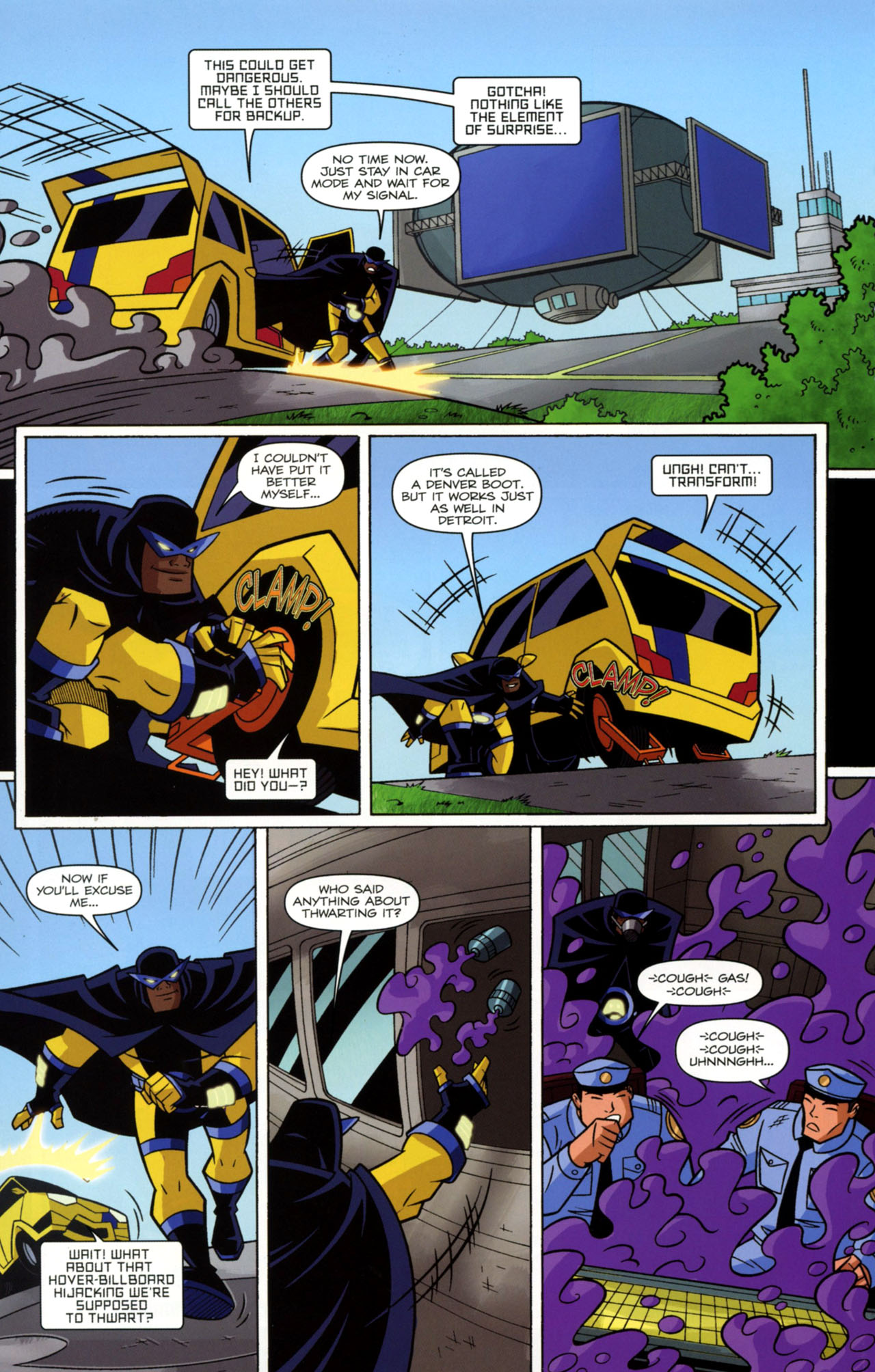 Read online Transformers Animated: The Arrival comic -  Issue #2 - 15