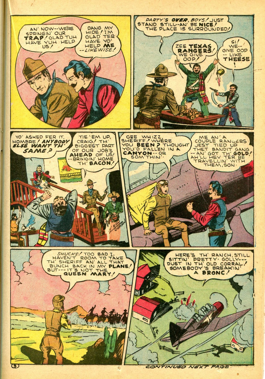 Read online Famous Funnies comic -  Issue #108 - 39