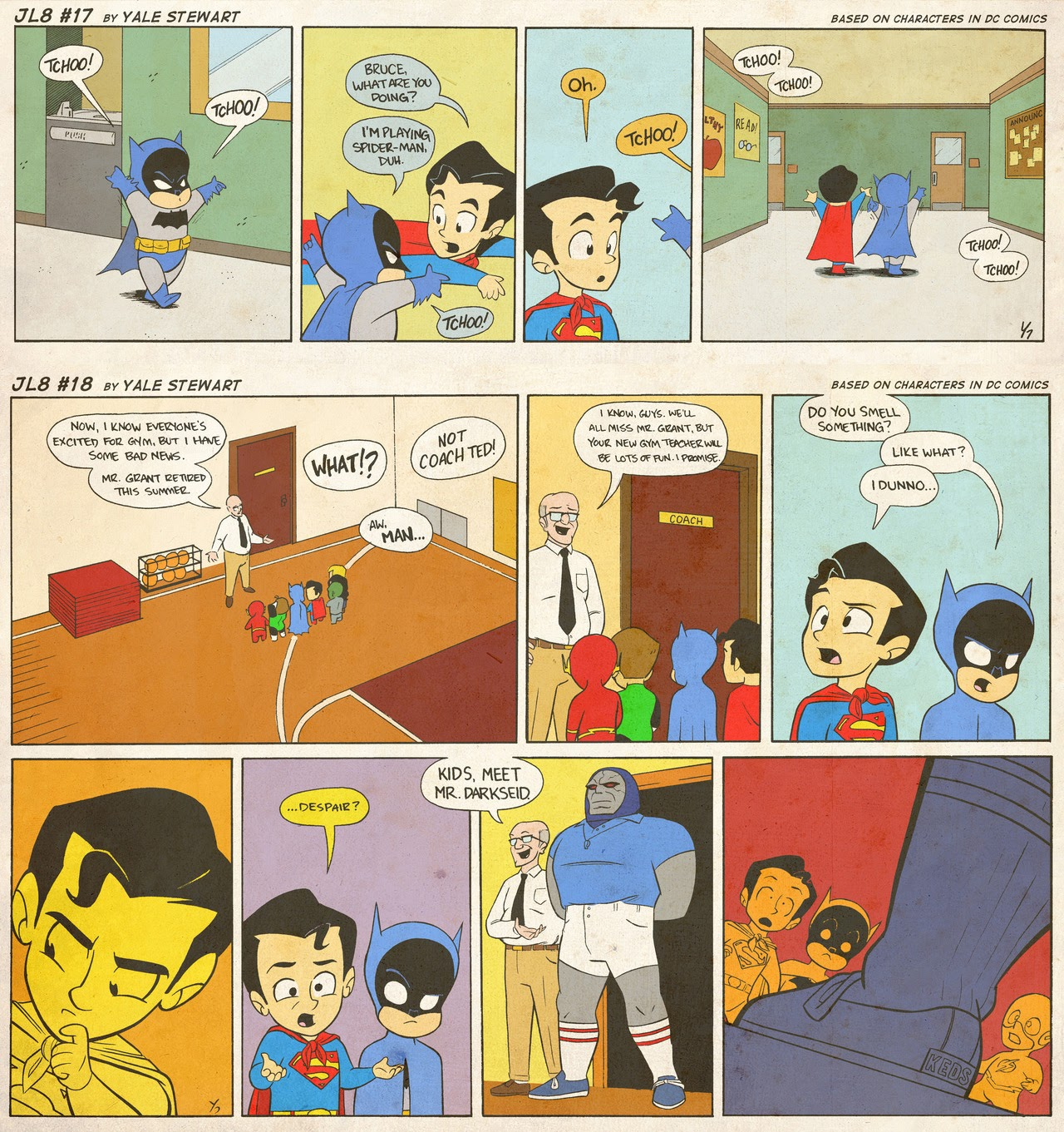 Read online JL8 – The Complete Collection comic -  Issue # TPB (Part 1) - 8