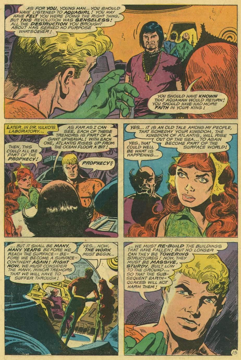 Read online Aquaman (1962) comic -  Issue #48 - 22