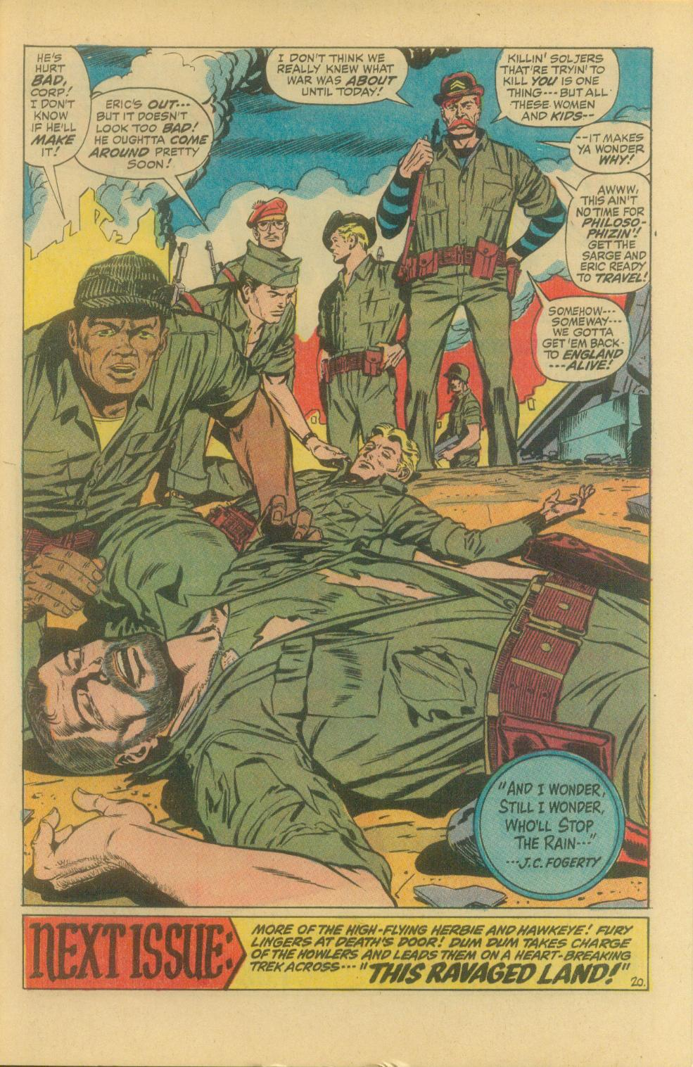 Read online Sgt. Fury comic -  Issue #94 - 29
