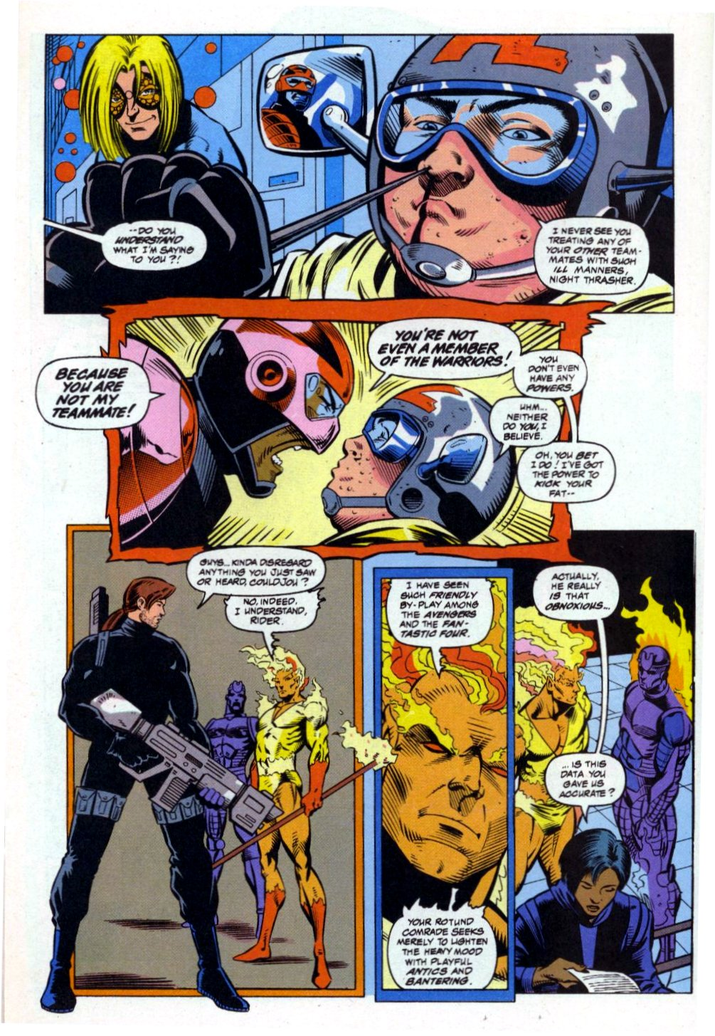 The New Warriors Issue #41 #45 - English 11