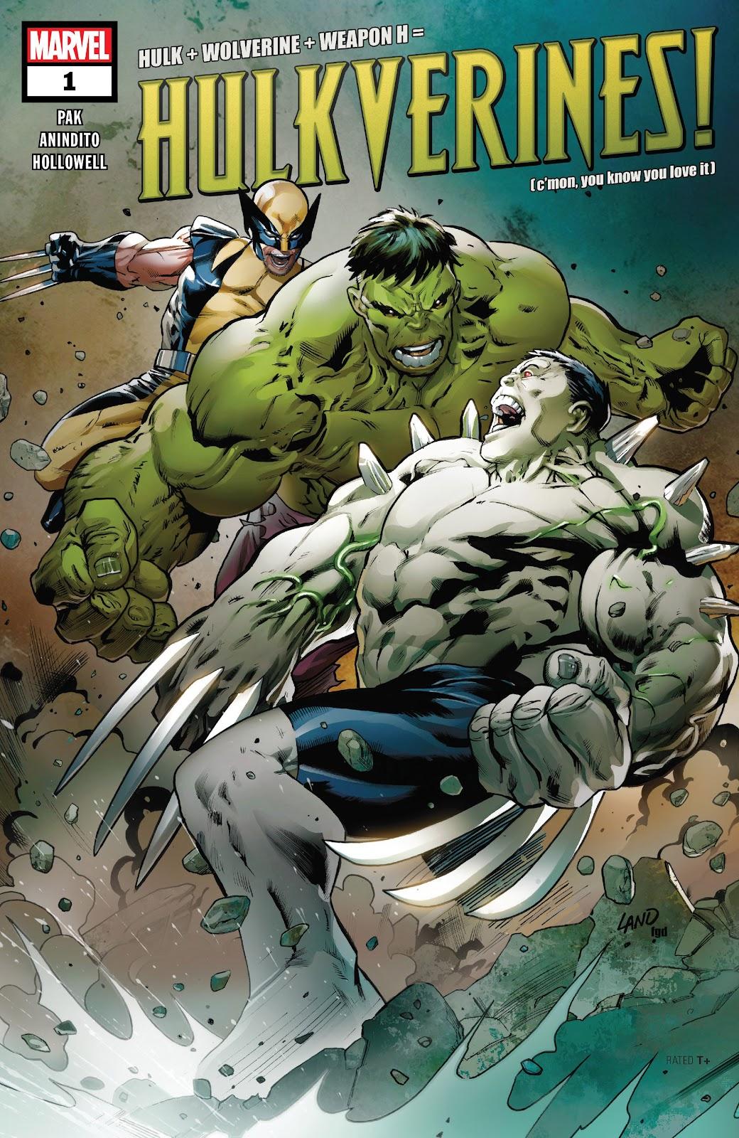 Read online Hulkverines comic -  Issue #1 - 1
