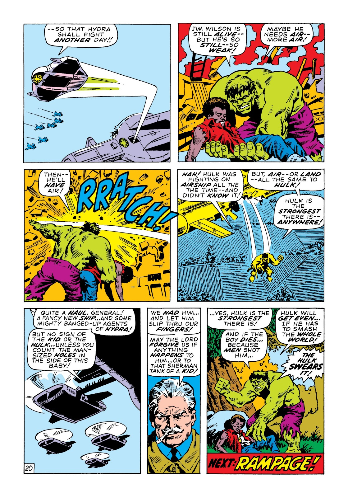Read online Marvel Masterworks: The Incredible Hulk comic -  Issue # TPB 6 (Part 3) - 33