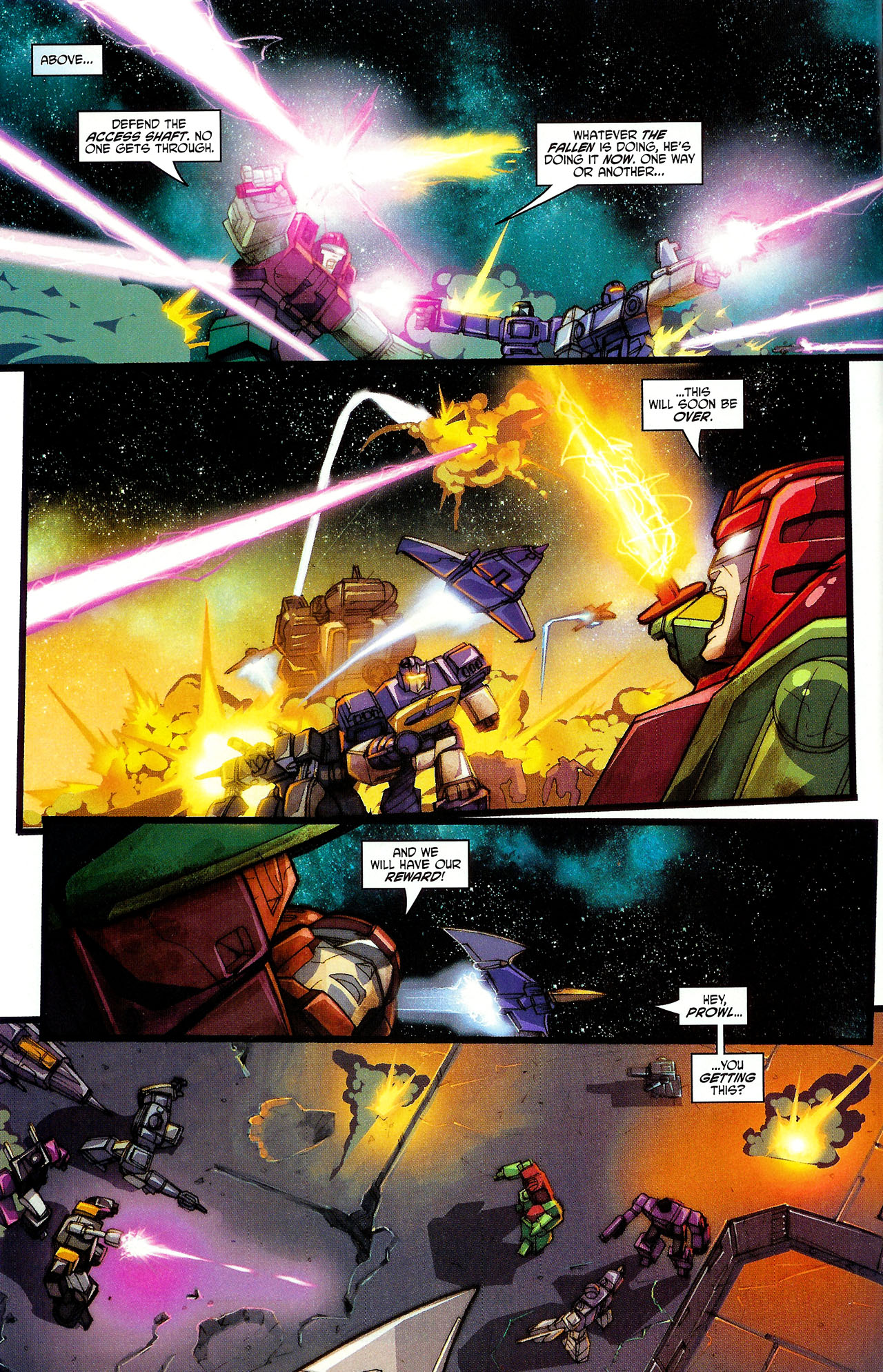 "Read online Transformers War Within: ""The Dark Ages"" comic -  Issue #6 - 6"