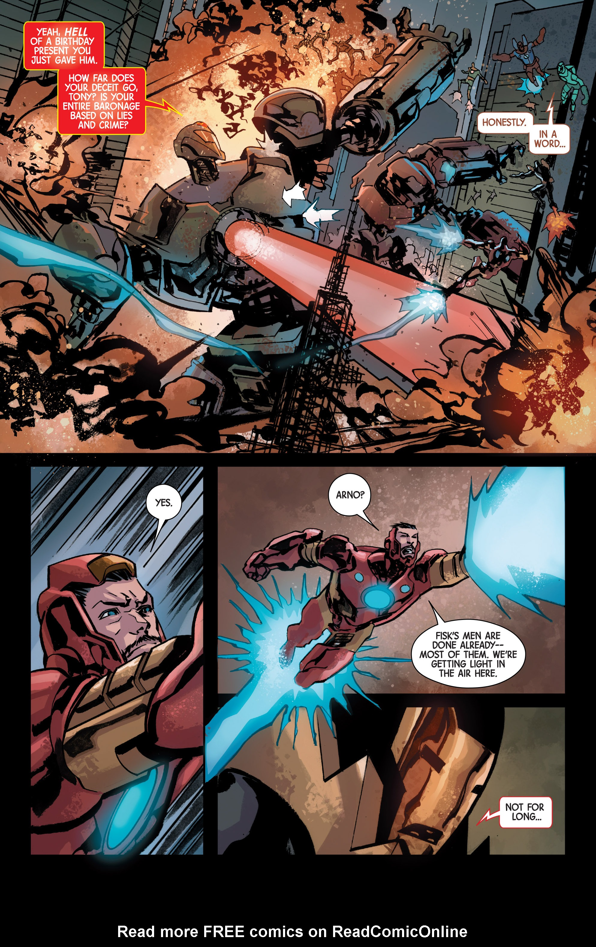 Read online Armor Wars comic -  Issue #5 - 6