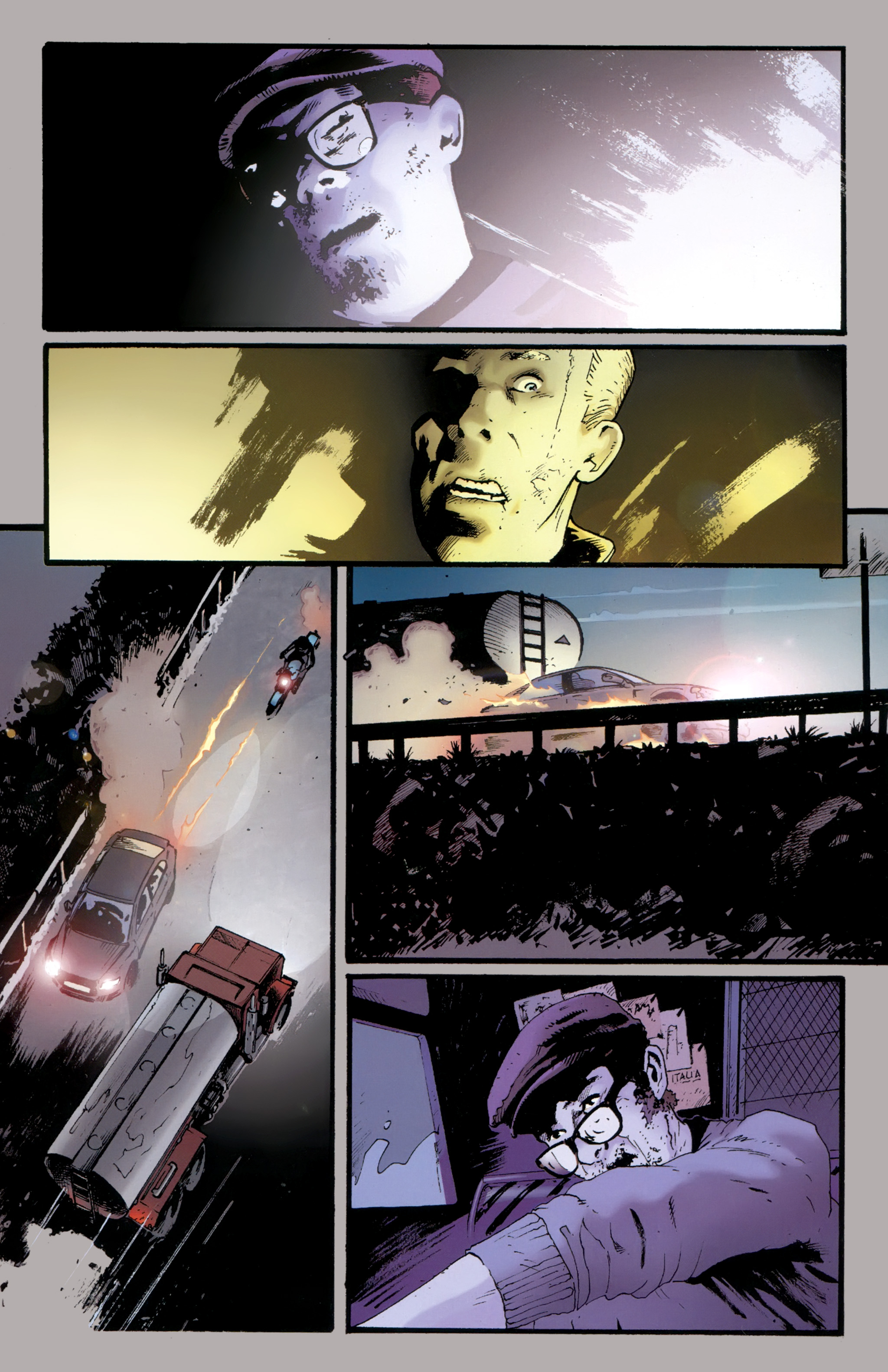 Read online The Girl With the Dragon Tattoo comic -  Issue # TPB 2 - 106