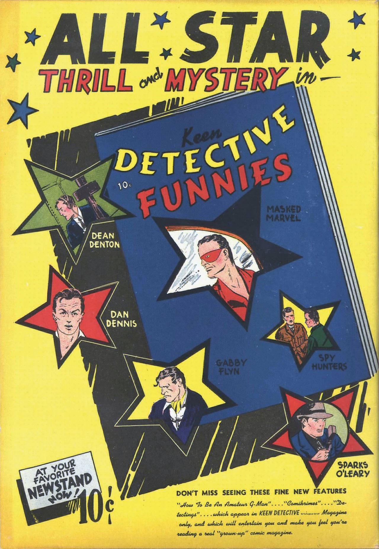 Read online Amazing Man Comics comic -  Issue #7 - 70