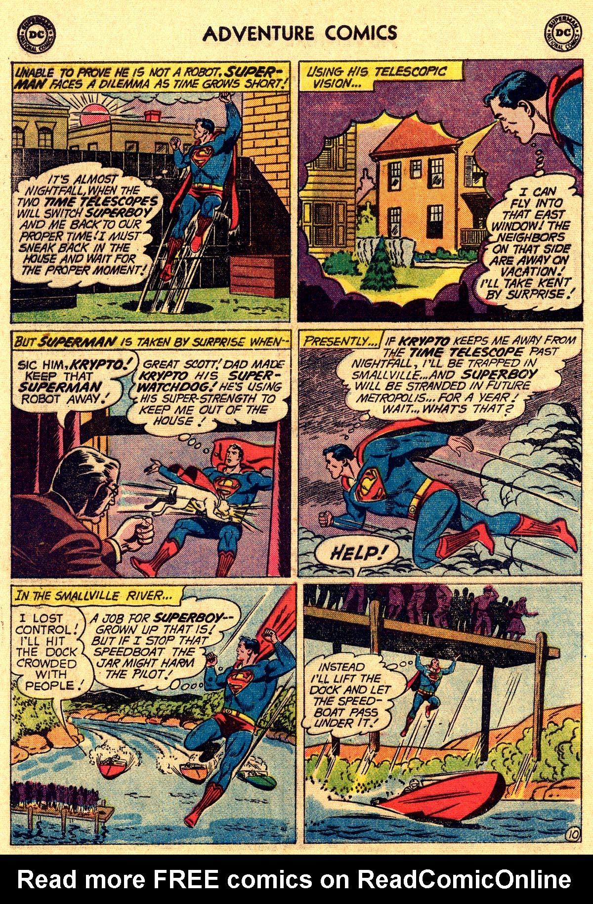 Read online Adventure Comics (1938) comic -  Issue #265 - 12