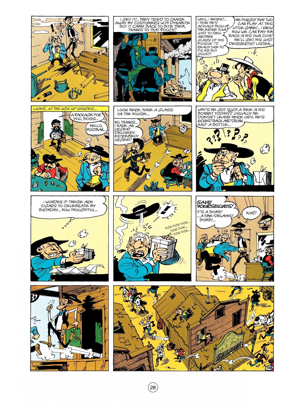 Read online A Lucky Luke Adventure comic -  Issue #40 - 28
