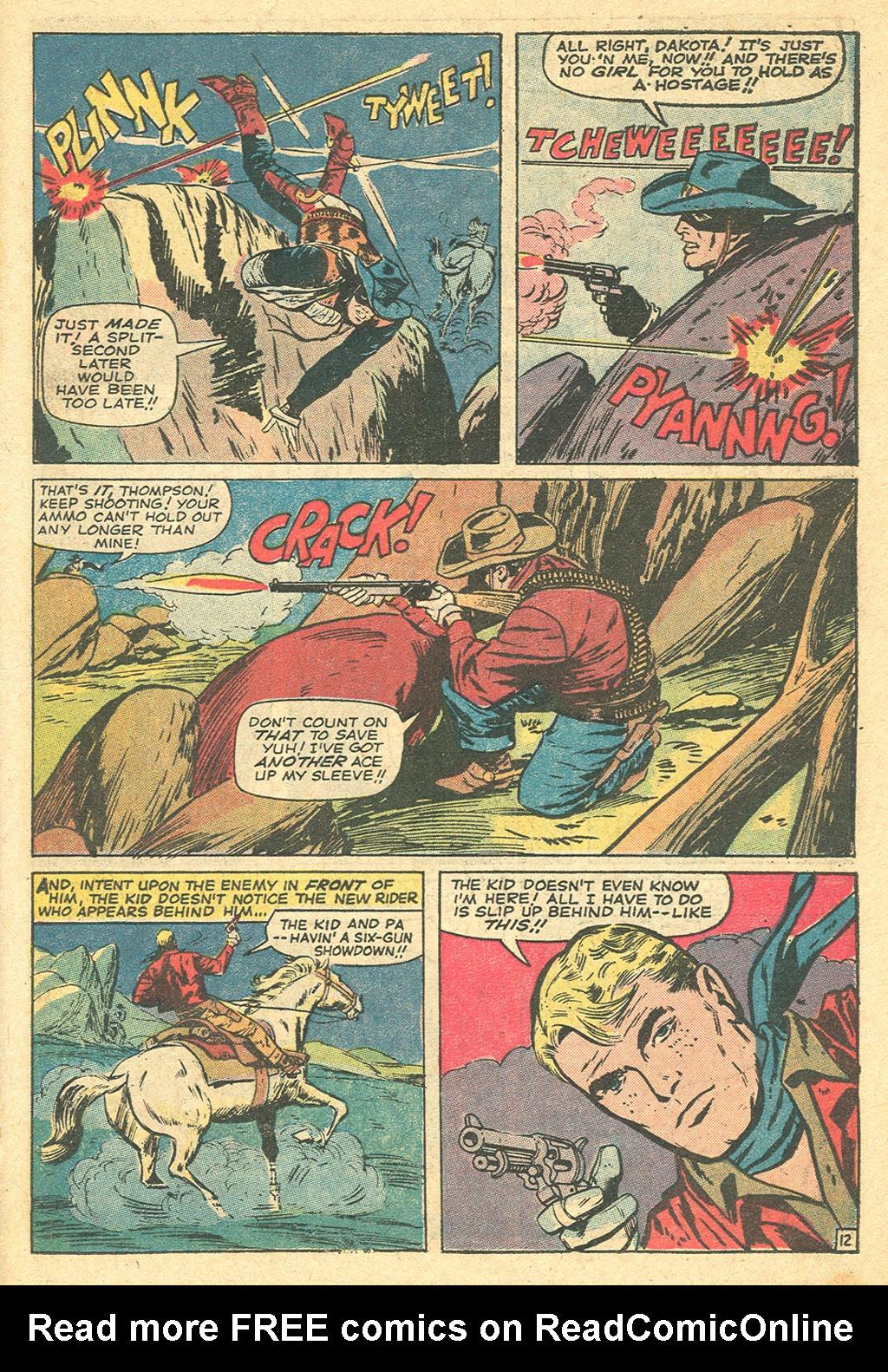 Read online Two-Gun Kid comic -  Issue #107 - 18