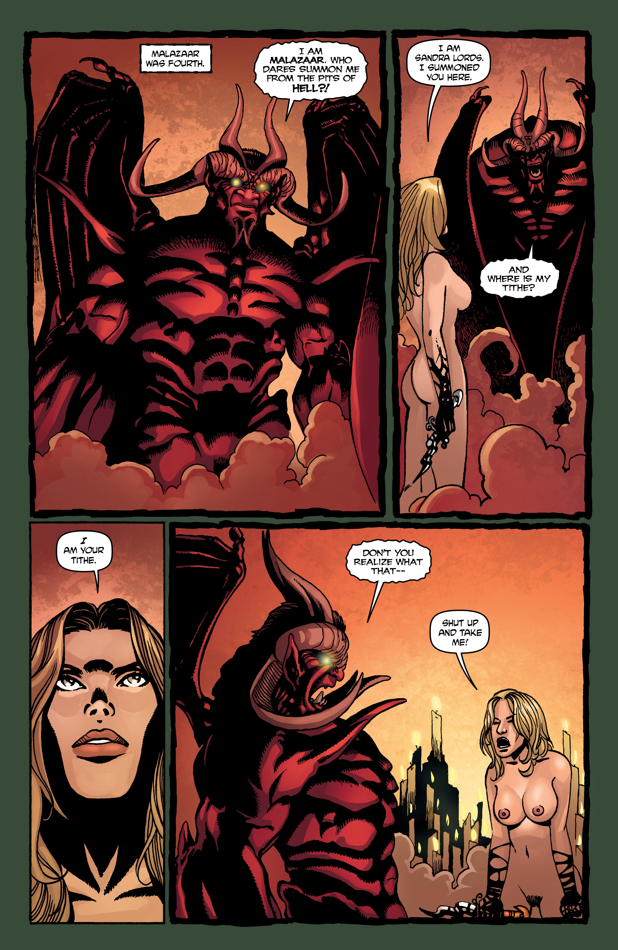 Read online Hellina: Scythe comic -  Issue #4 - 31