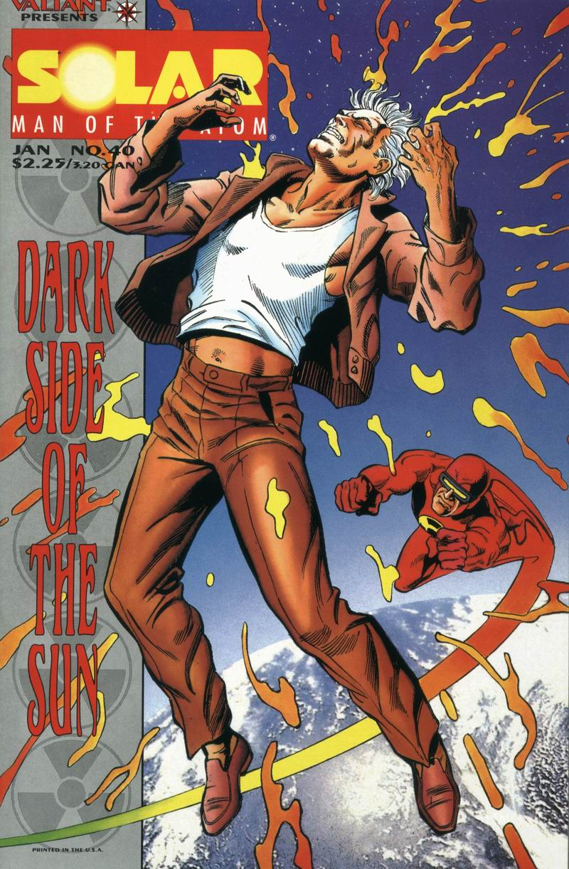 Read online Solar, Man of the Atom comic -  Issue #40 - 1