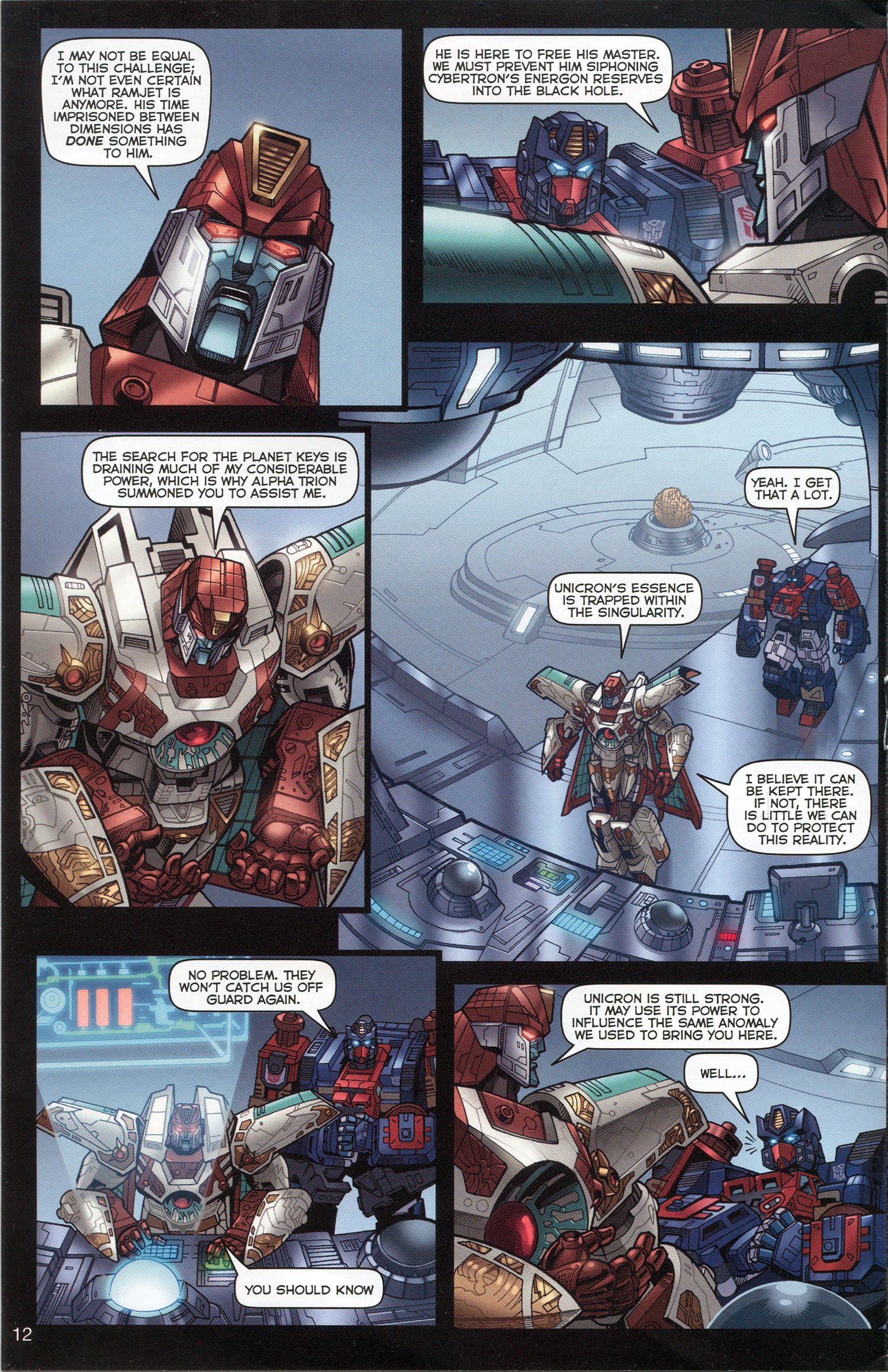 Read online Transformers: Collectors' Club comic -  Issue #3 - 12