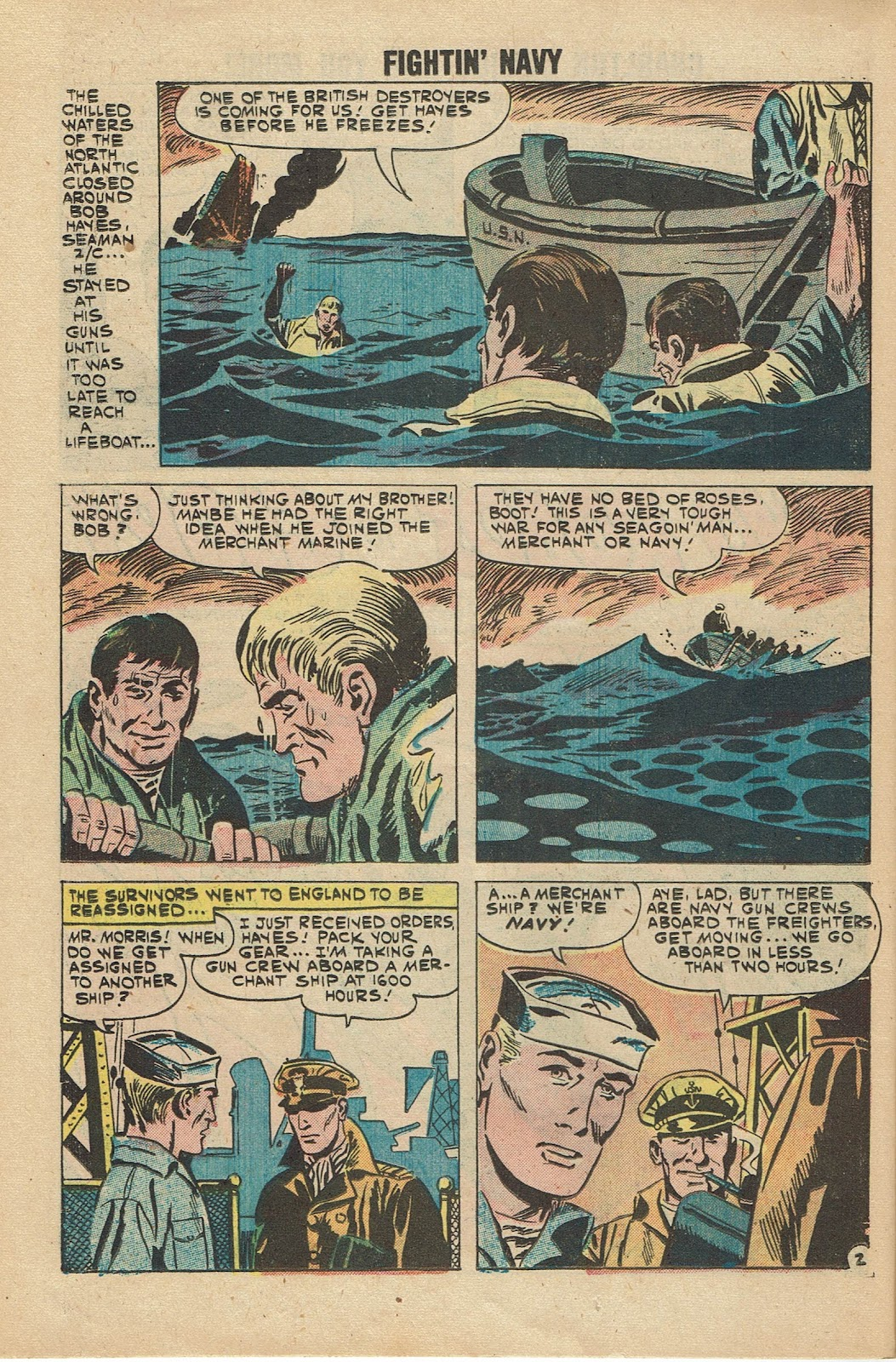 Read online Fightin' Navy comic -  Issue #96 - 26