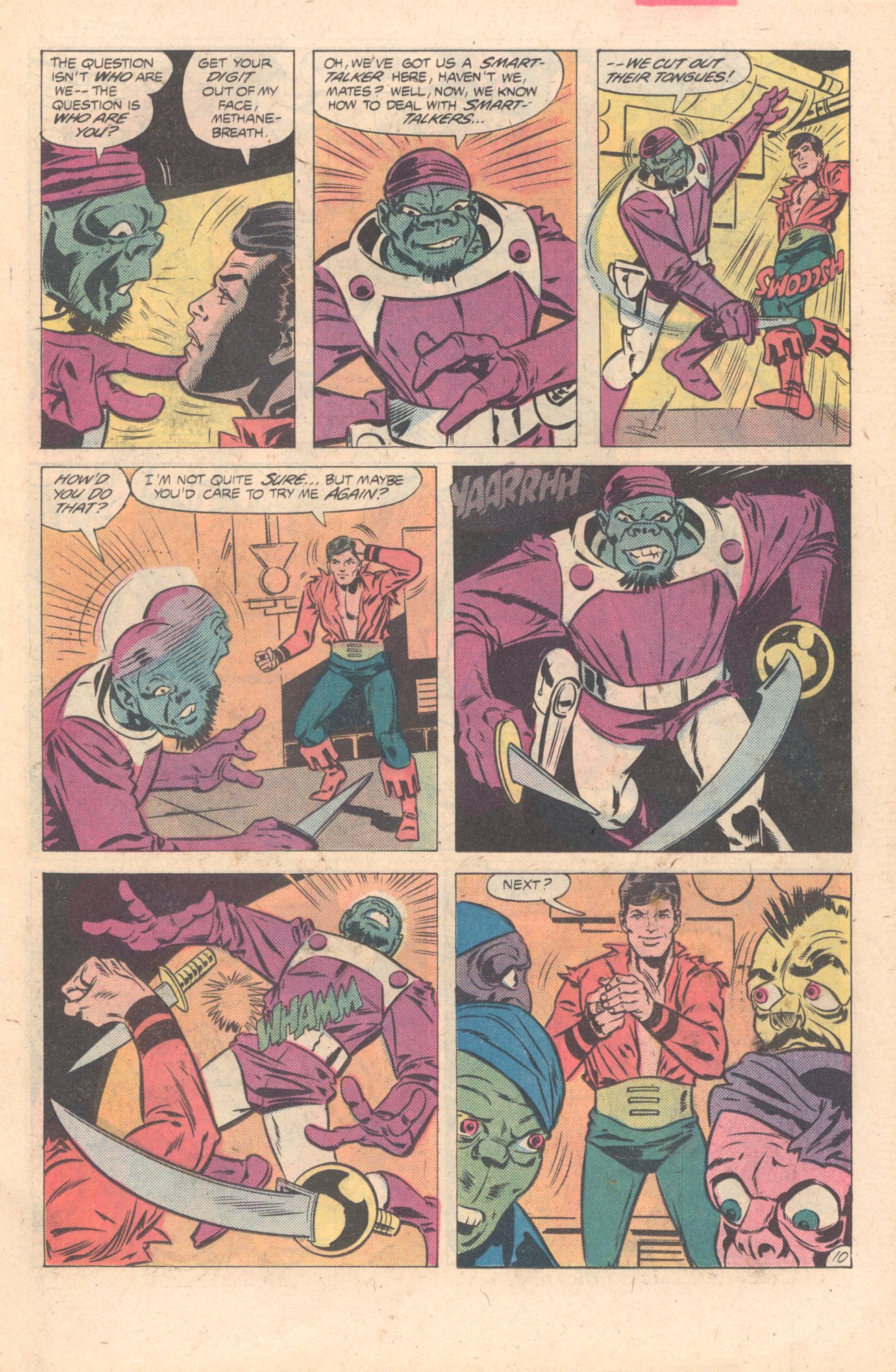 Legion of Super-Heroes (1980) 274 Page 10