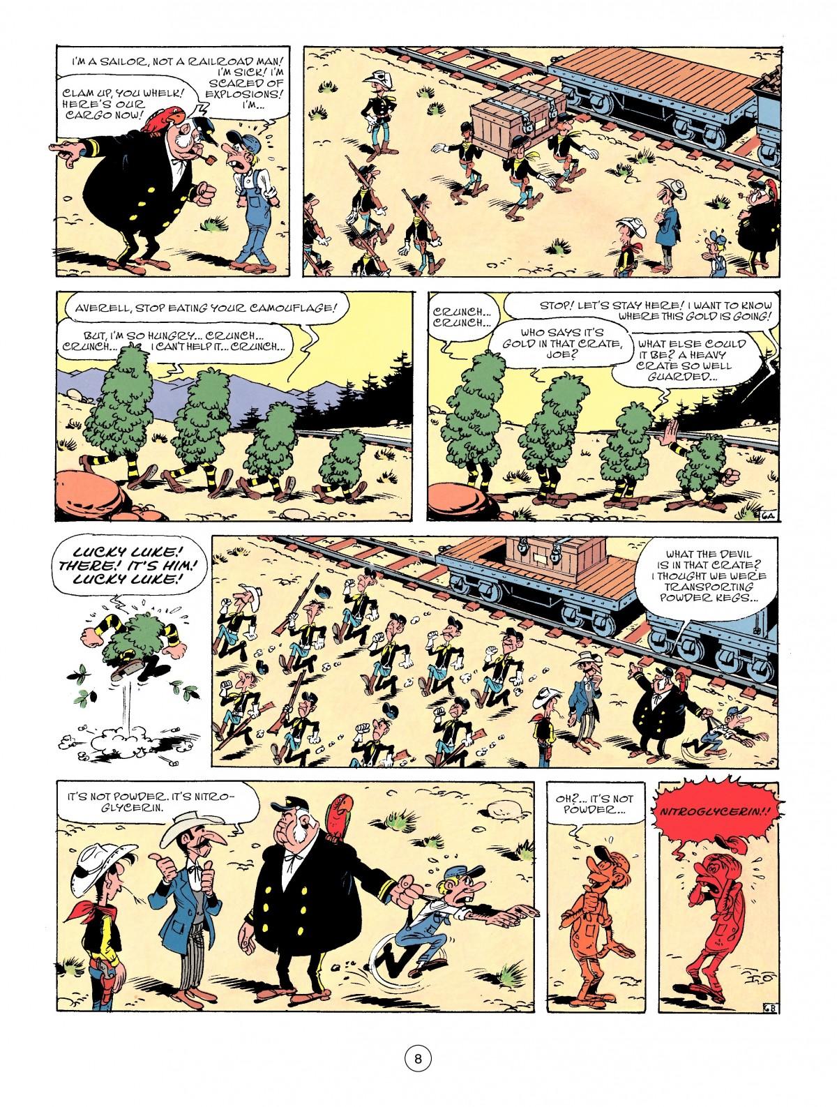 Read online A Lucky Luke Adventure comic -  Issue #53 - 8