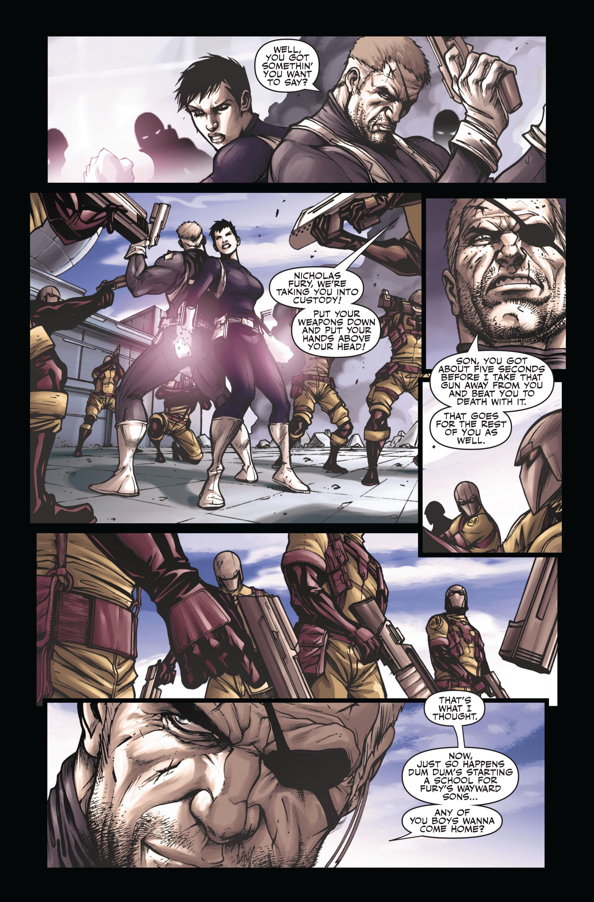 Read online Secret Warriors comic -  Issue #6 - 16