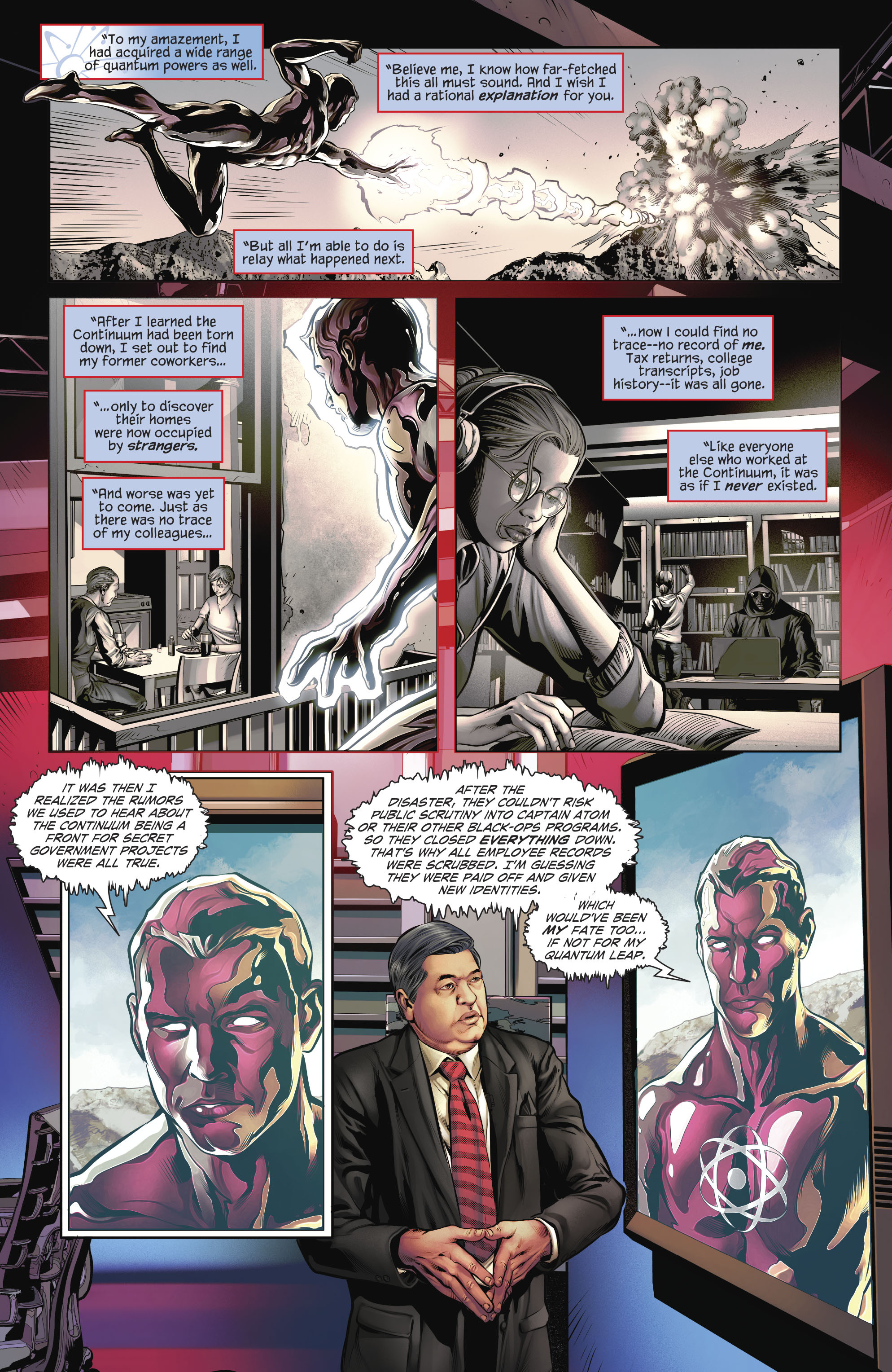 Read online The Fall and Rise of Captain Atom comic -  Issue #4 - 5