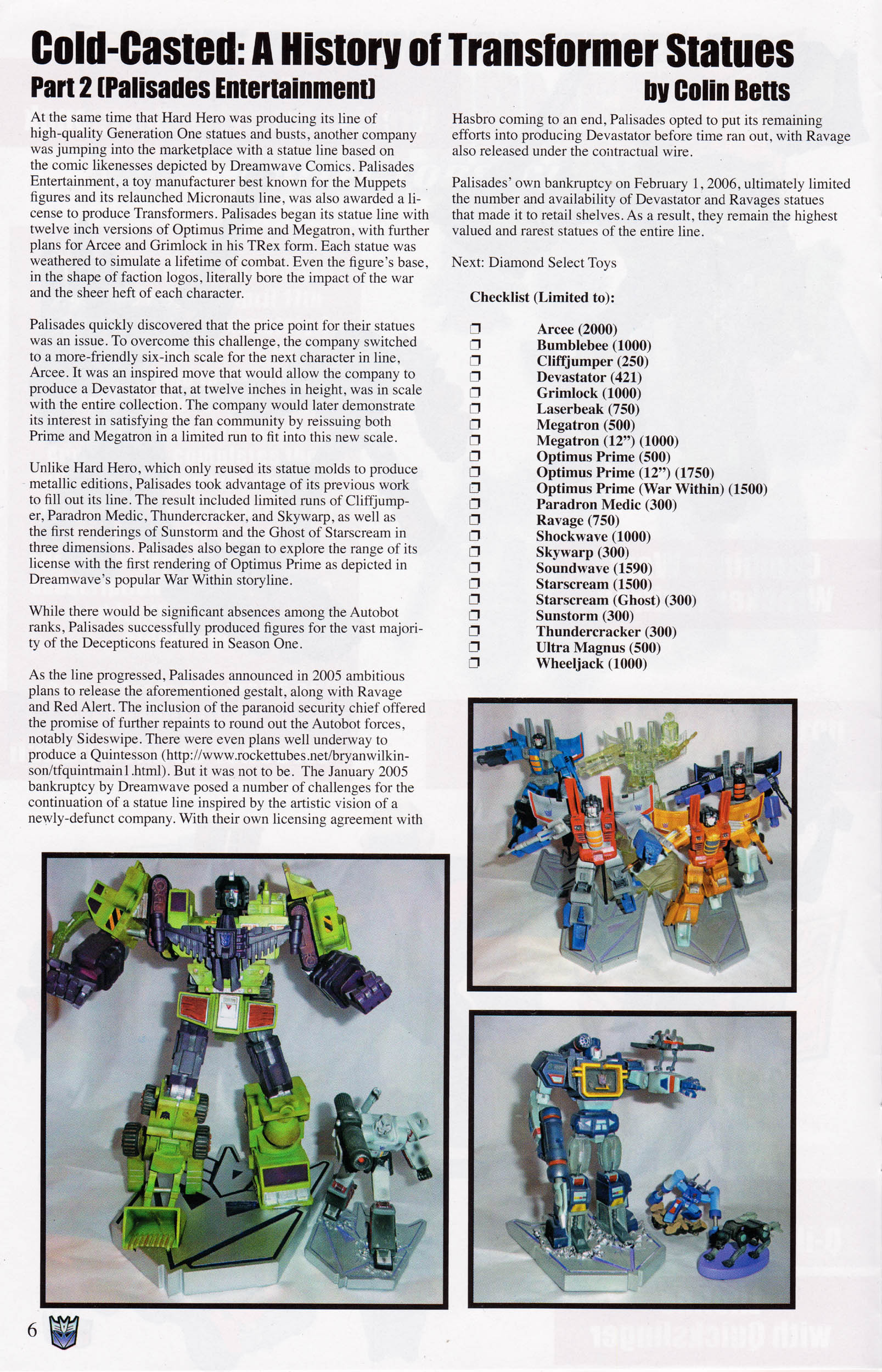 Read online Transformers: Collectors' Club comic -  Issue #68 - 6