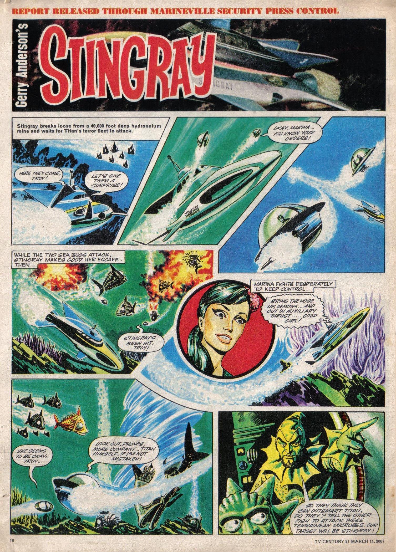 Read online TV Century 21 (TV 21) comic -  Issue #112 - 15