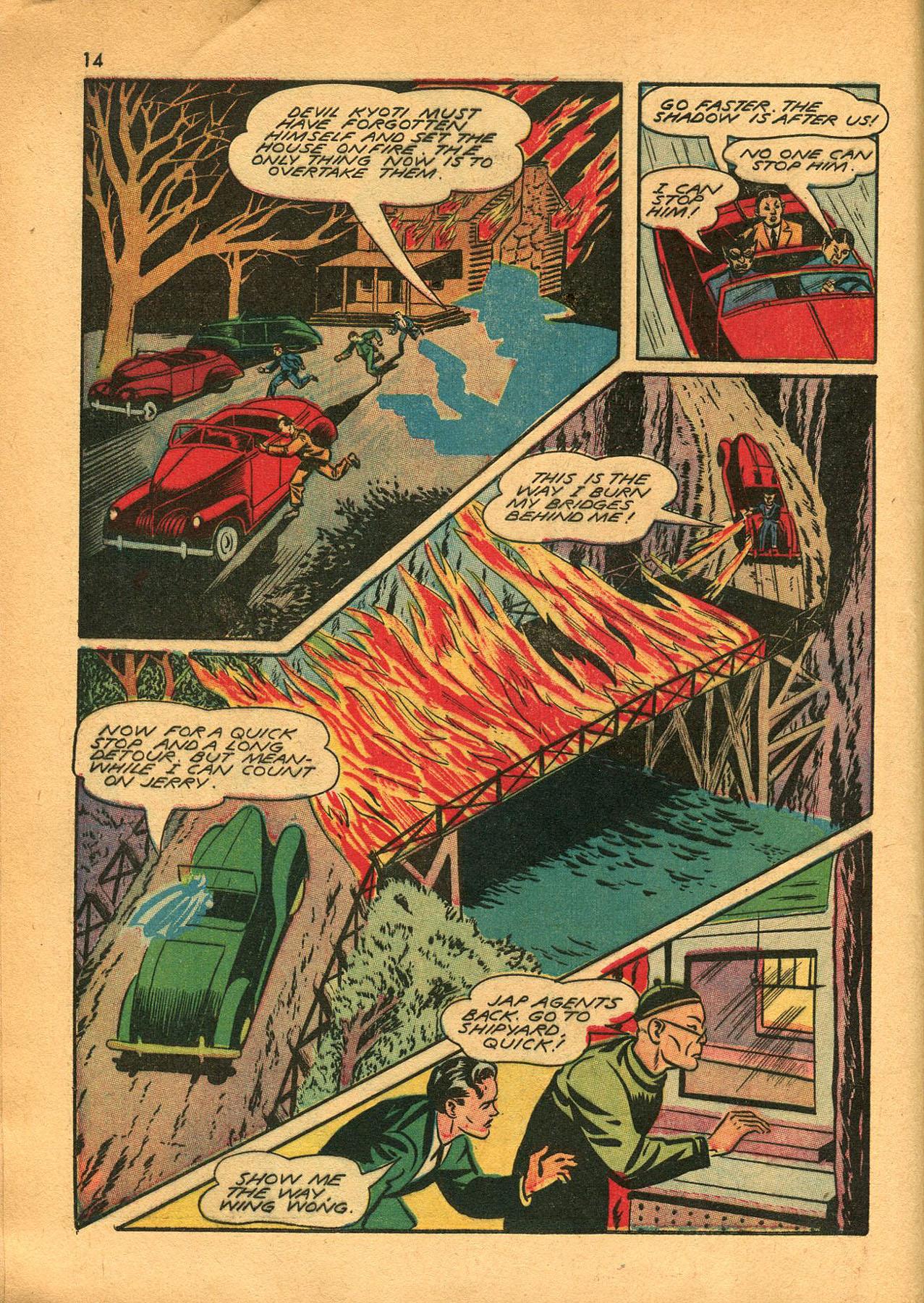 Read online Shadow Comics comic -  Issue #23 - 14