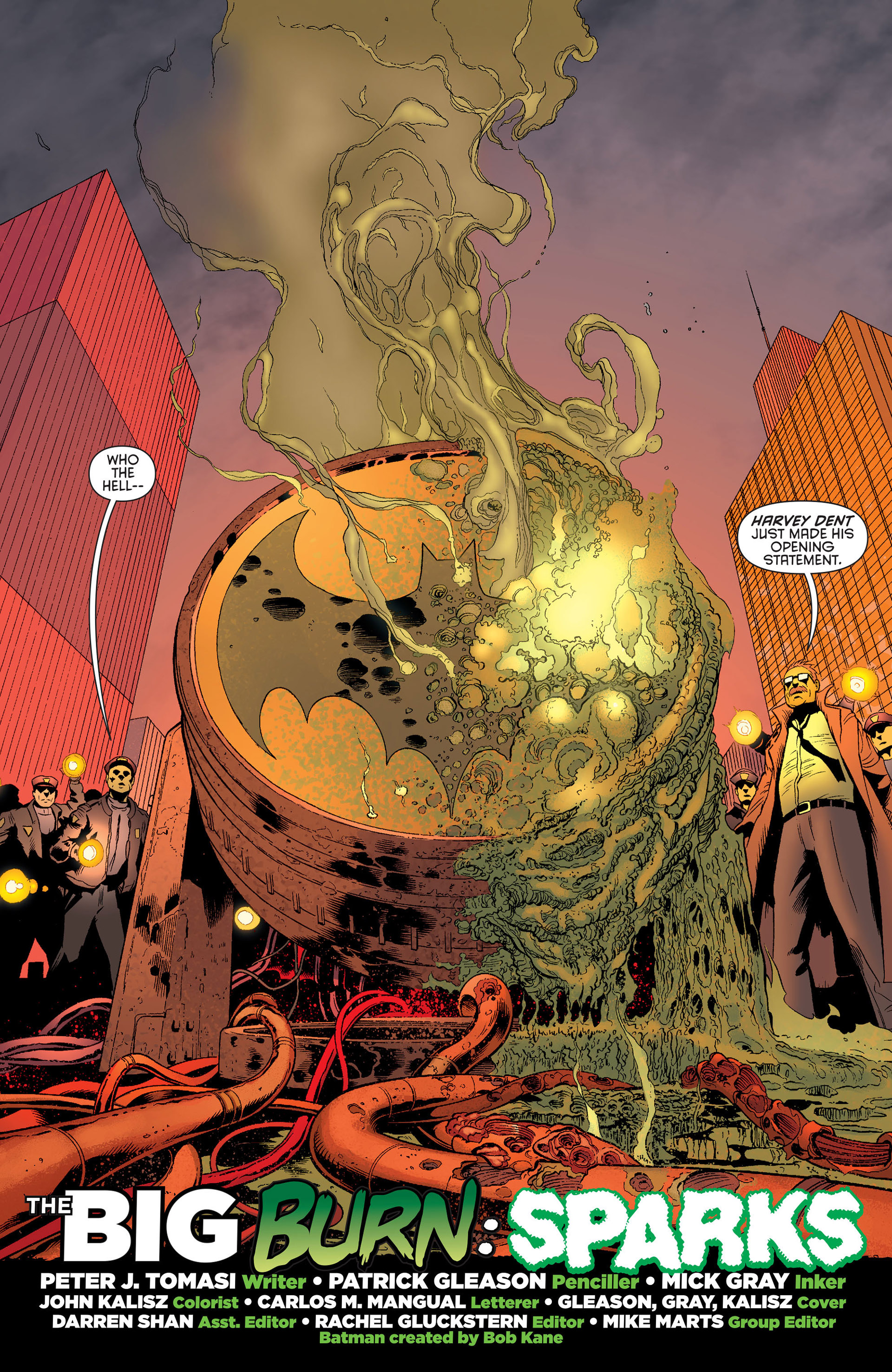 Read online Batman and Robin (2011) comic -  Issue #25 - Batman and Two-Face - 3