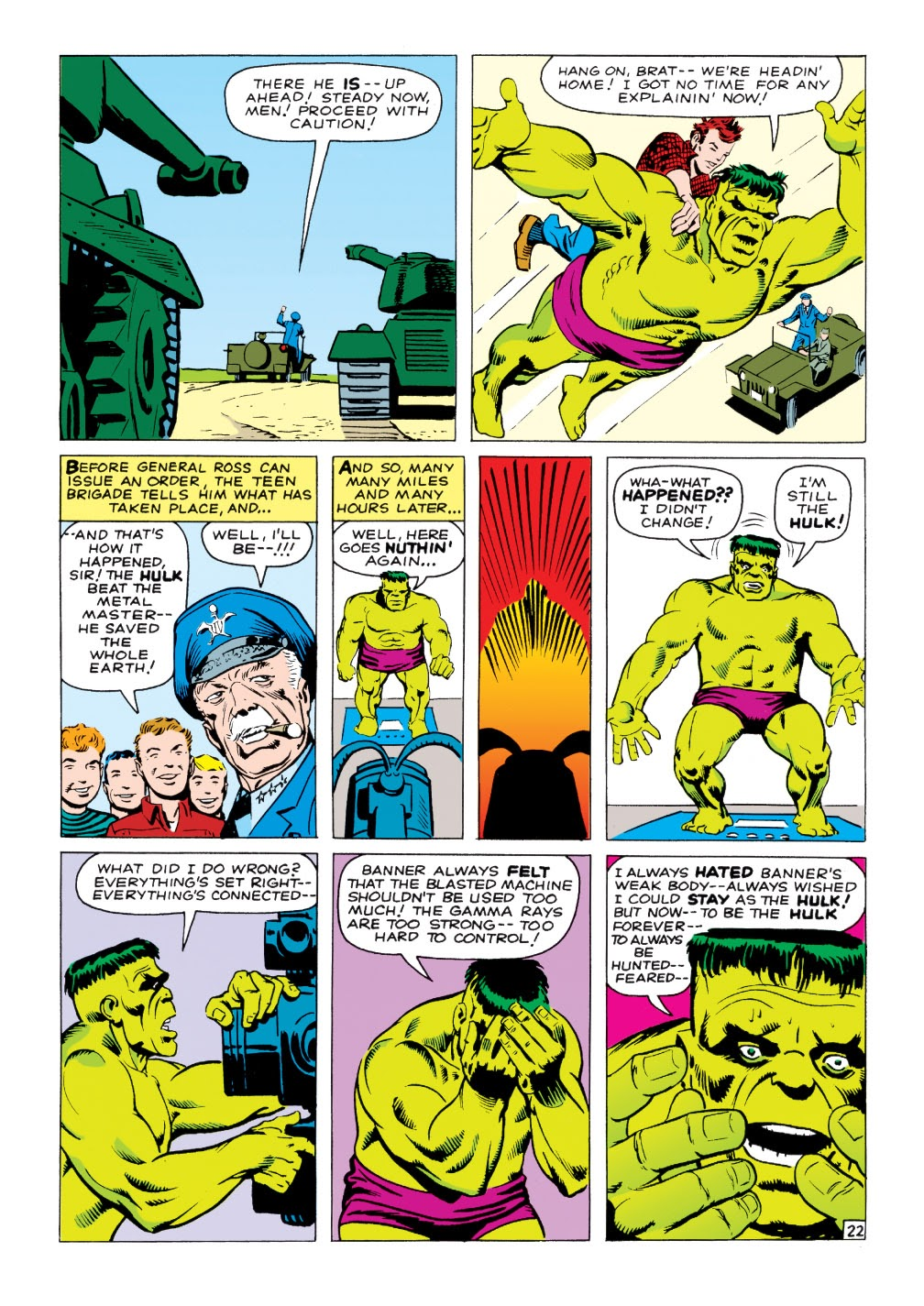 Read online Marvel Masterworks: The Incredible Hulk comic -  Issue # TPB 1 (Part 2) - 51