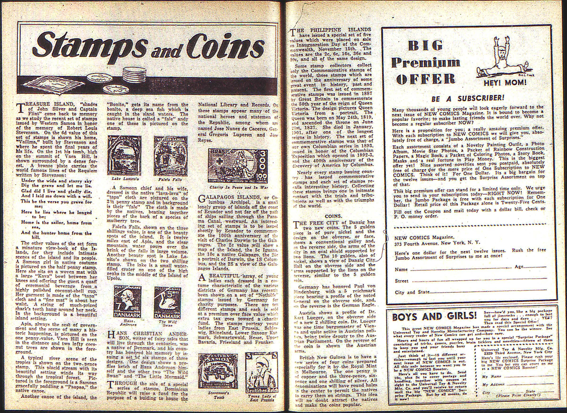 Read online Adventure Comics (1938) comic -  Issue #2 - 29