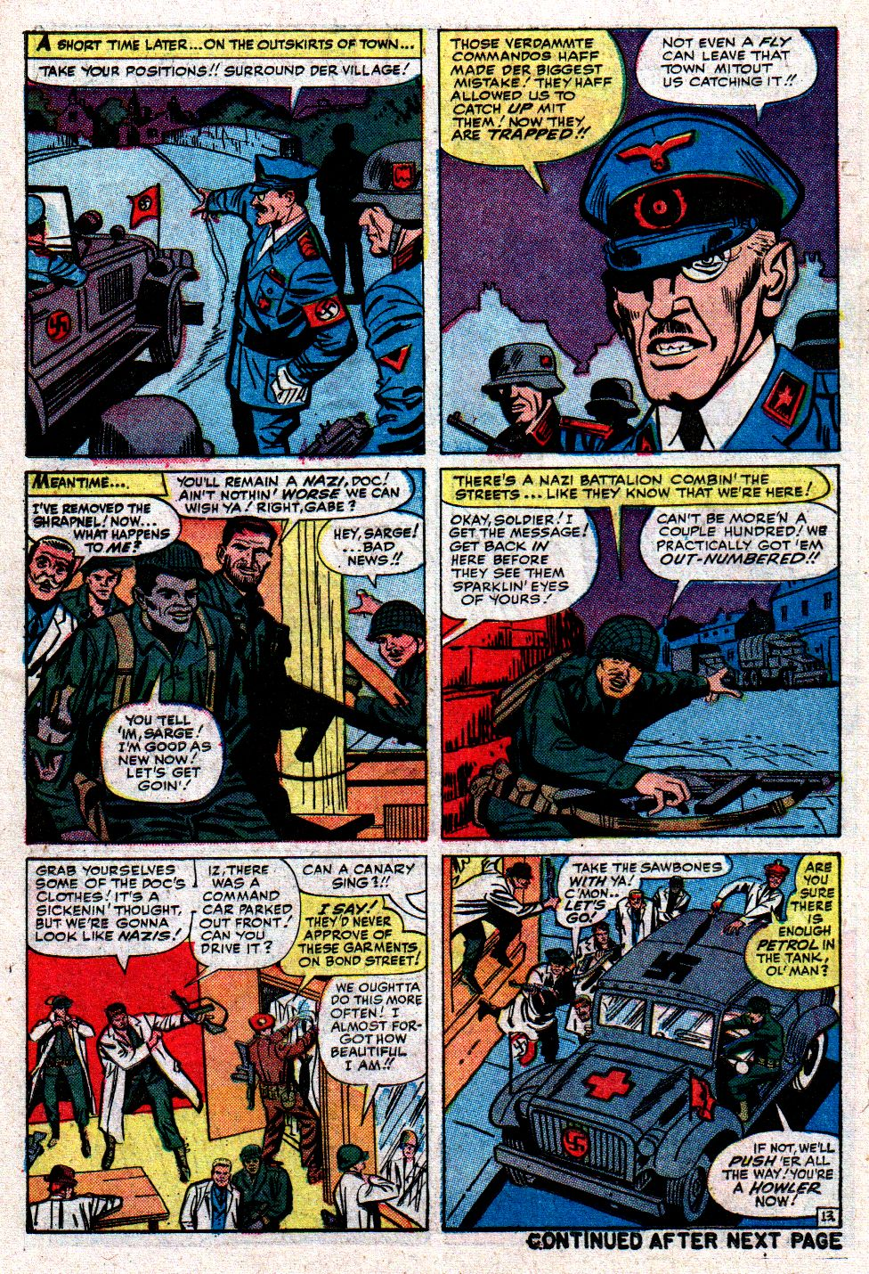 Read online Sgt. Fury comic -  Issue #8 - 18