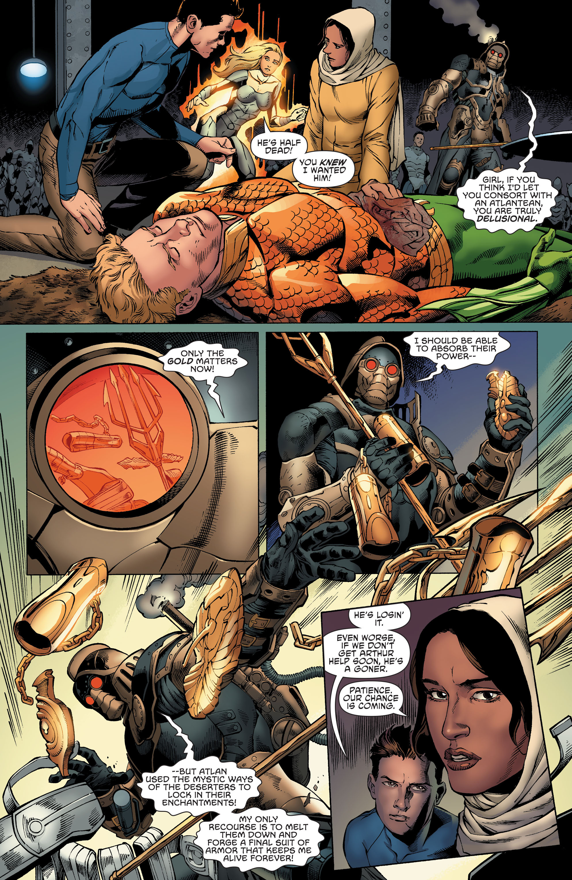 Read online Aquaman and the Others comic -  Issue #4 - 11